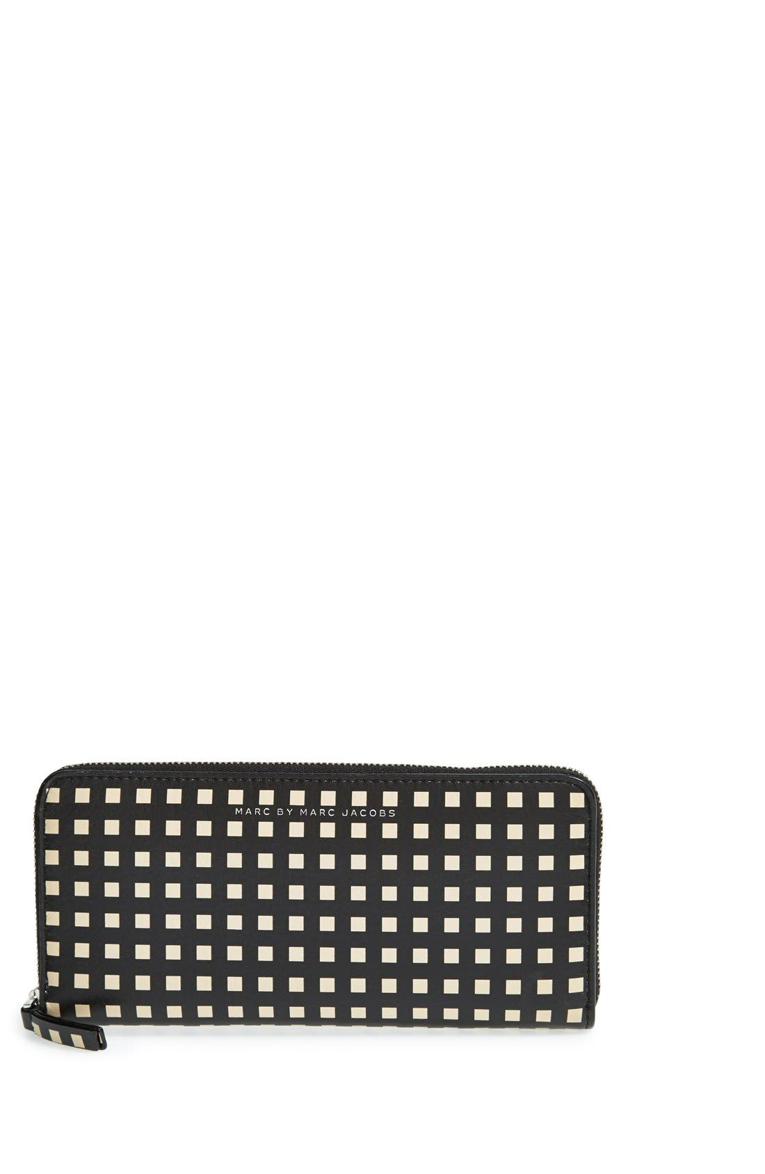 Alternate Image 1 Selected - MARC BY MARC JACOBS 'Sophisticato - Slim' Zip Around Wallet