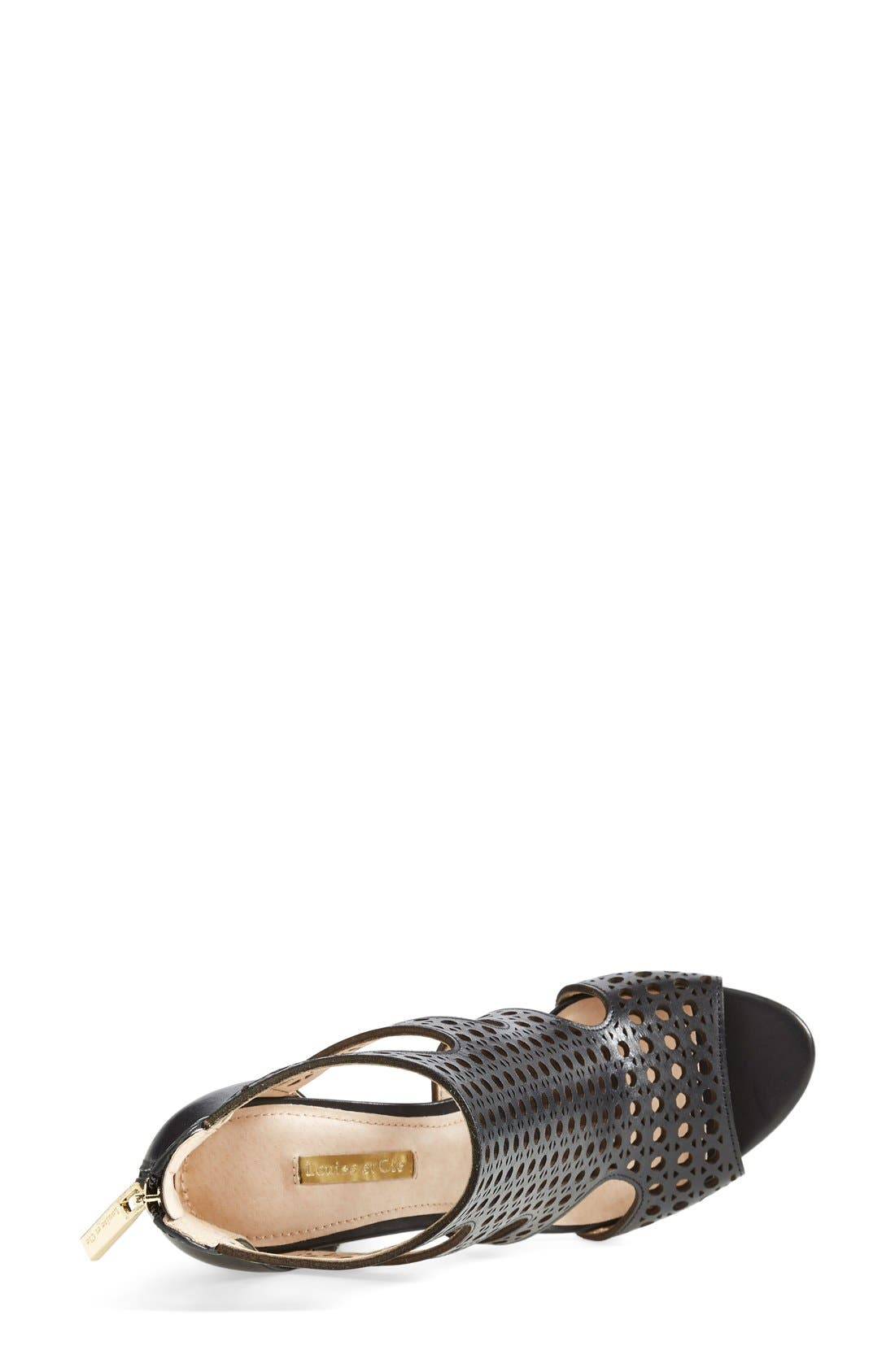 Alternate Image 3  - Louise et Cie 'Winnie 2' Perforated Leather Pump (Women)