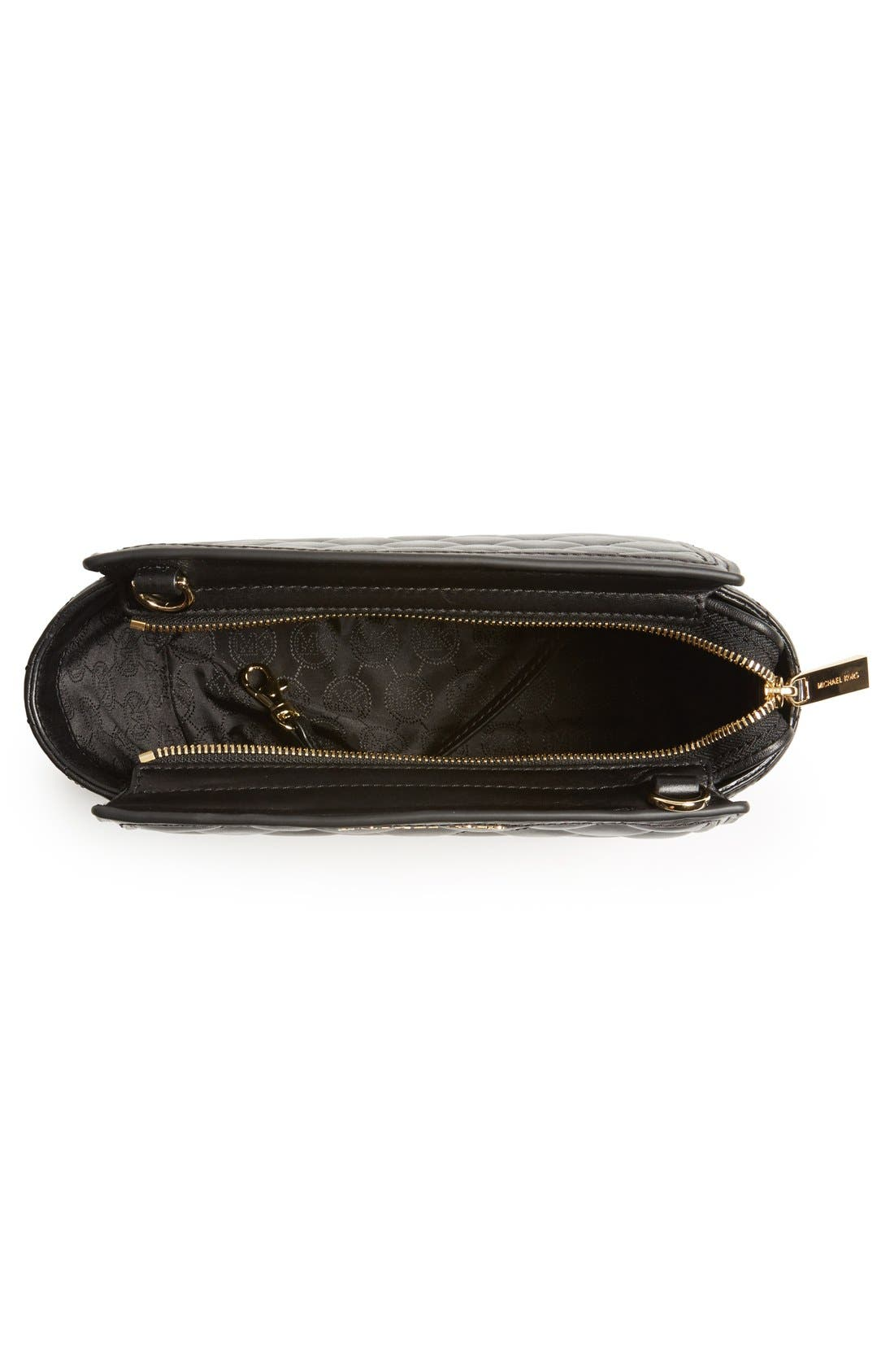 Alternate Image 2  - MICHAEL Michael Kors 'Medium Selma' Quilted Leather Messenger Bag