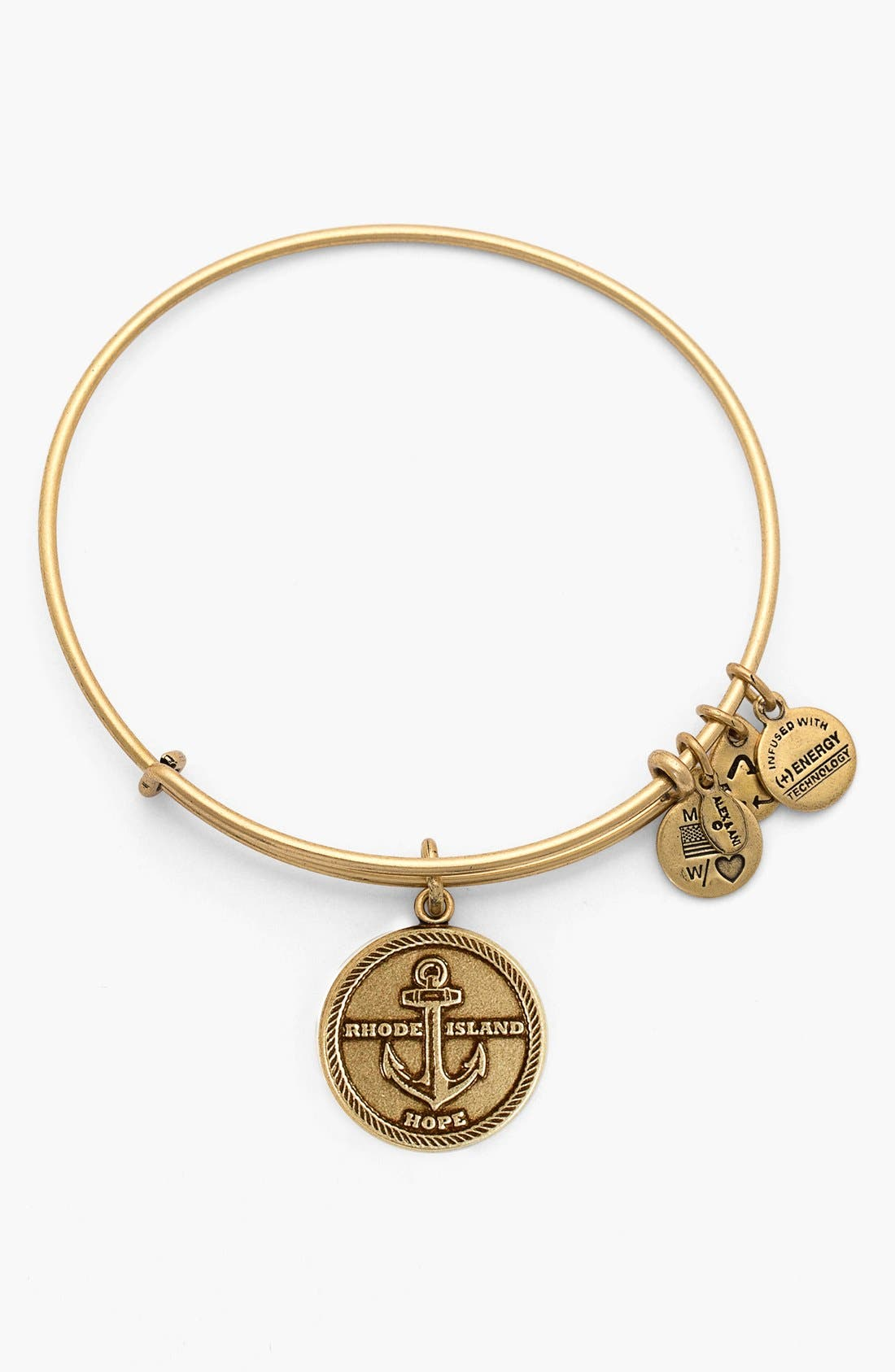 Alternate Image 1 Selected - Alex and Ani 'Rhode Island' Expandable Wire Bangle