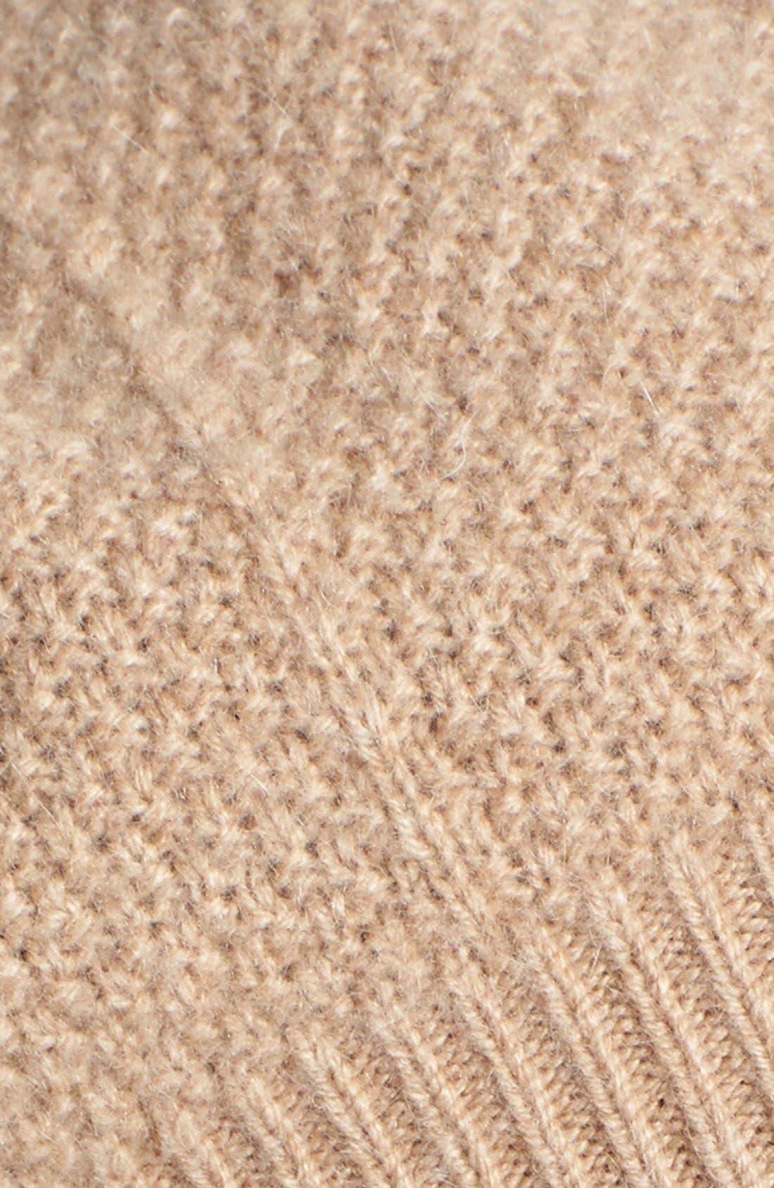Alternate Image 2  - Nordstrom Textured Cashmere Beret