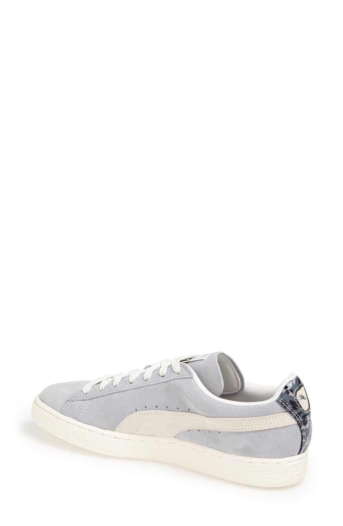 Alternate Image 2  - PUMA 'Classic' Suede Sneaker (Women)