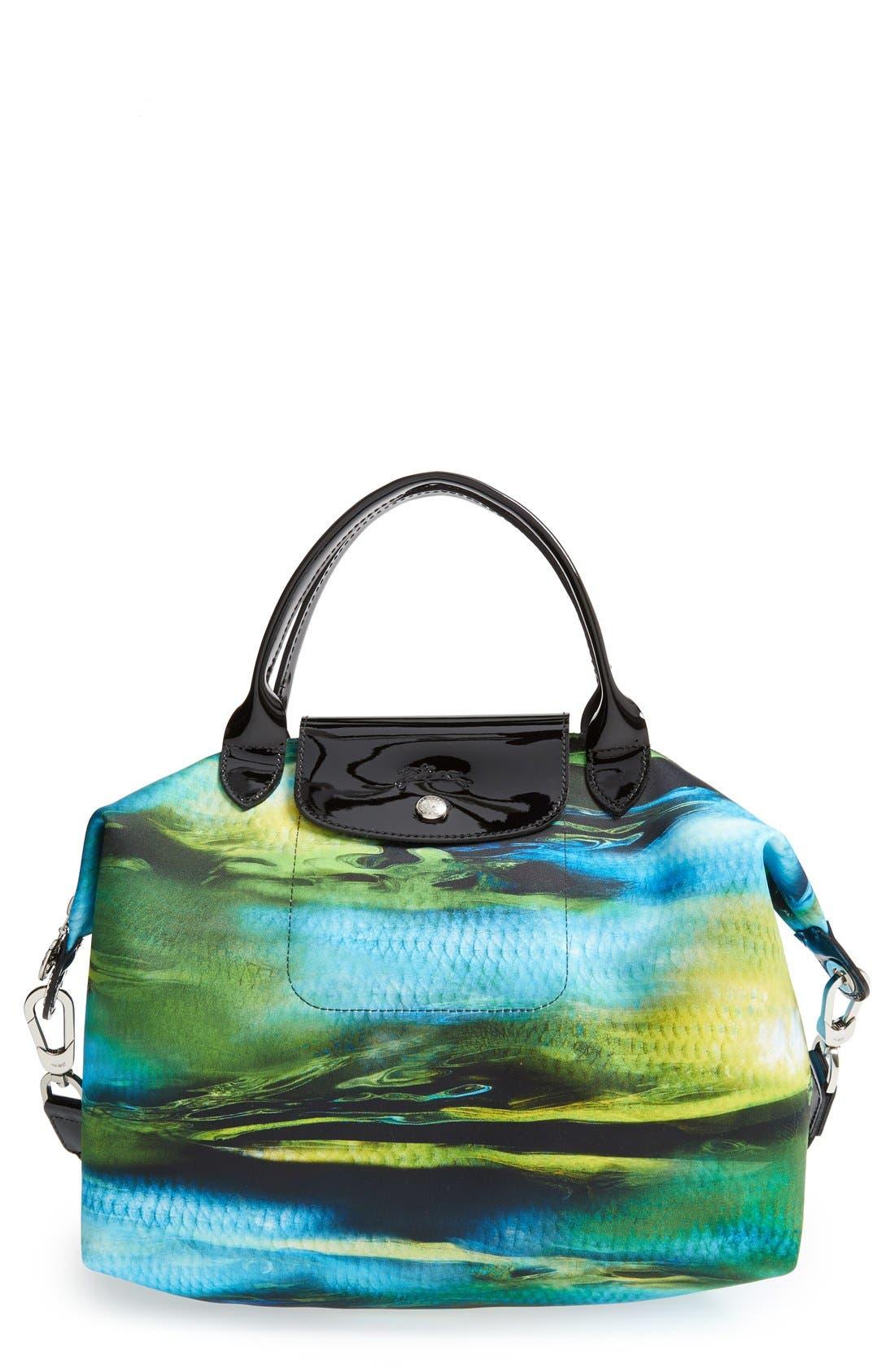 Main Image - Longchamp 'Le Pliage - Neo Fantaisie' Top Handle Bag