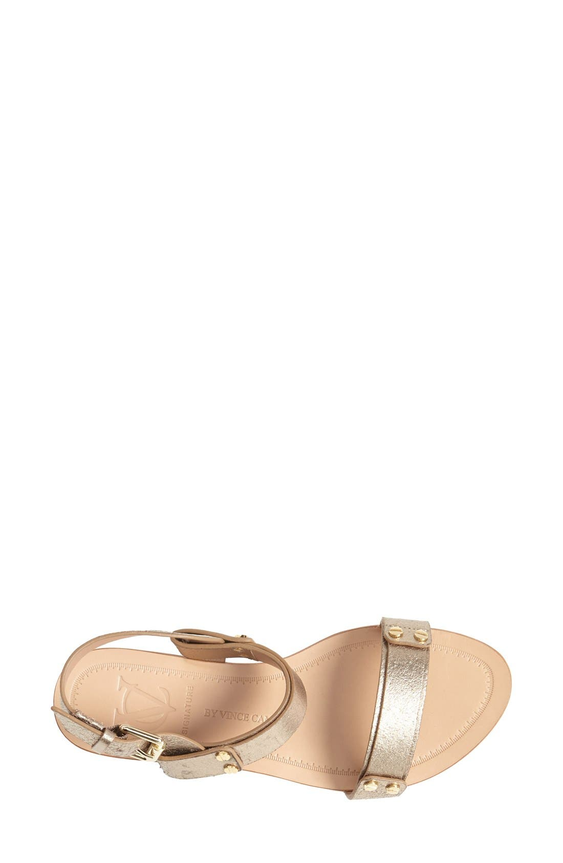 Alternate Image 3  - VC Signature 'Magnoliah' Leather Sandal (Women)
