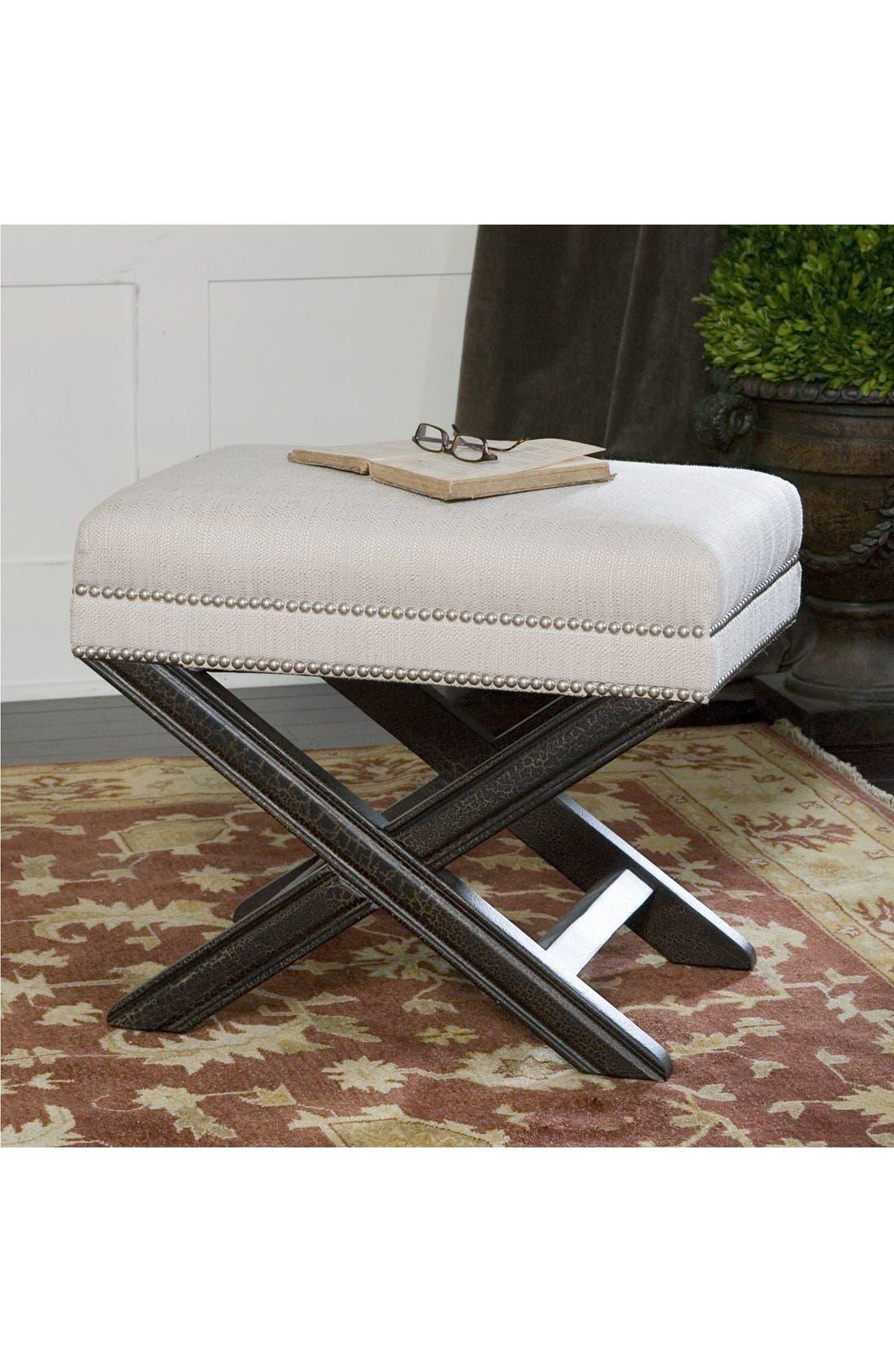 Alternate Image 2  - Uttermost 'Viera' Sandy White Small Bench