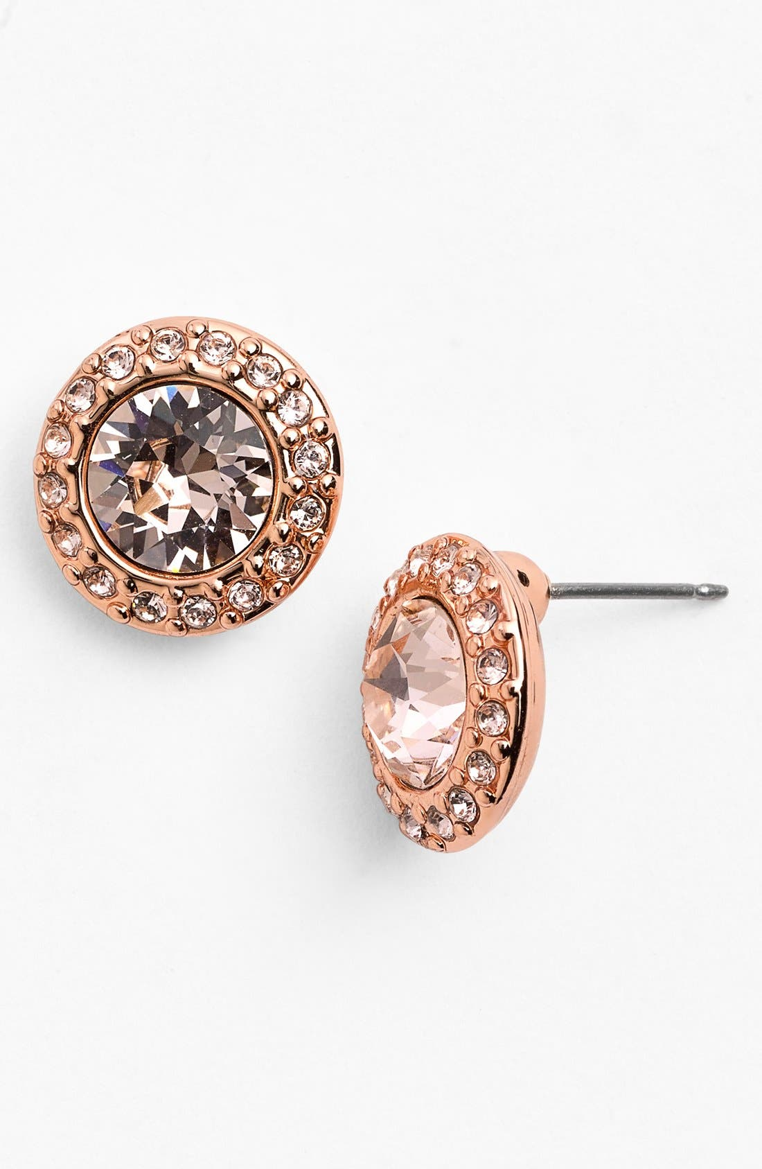 Alternate Image 1 Selected - Givenchy Pavé Stud Earrings