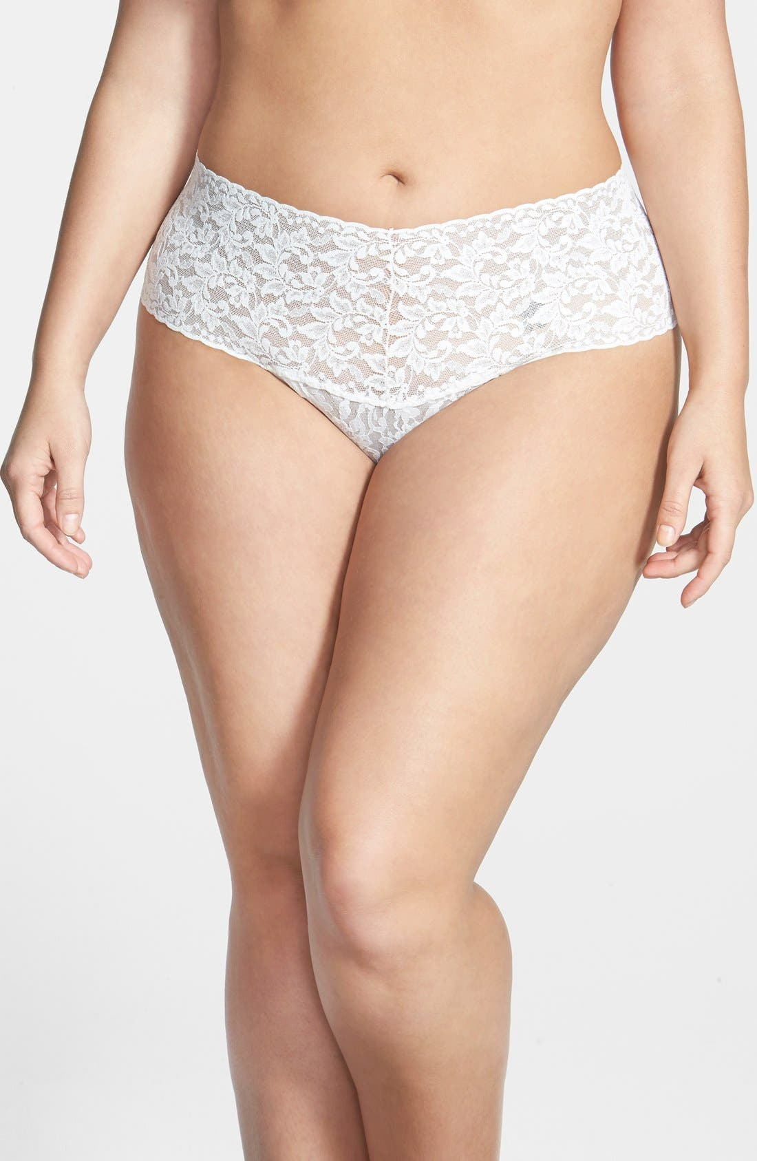 Main Image - Hanky Panky 'Retro' Thong (Plus Size)