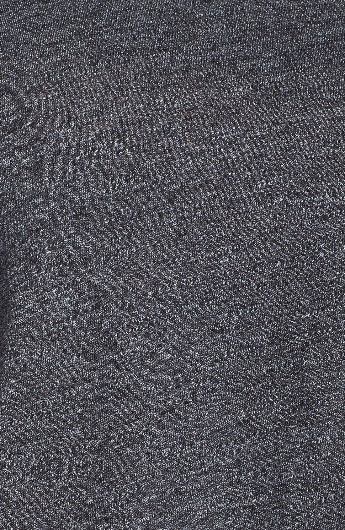Alternate Image 4  - Monrow 'Athletic' Crop Tee
