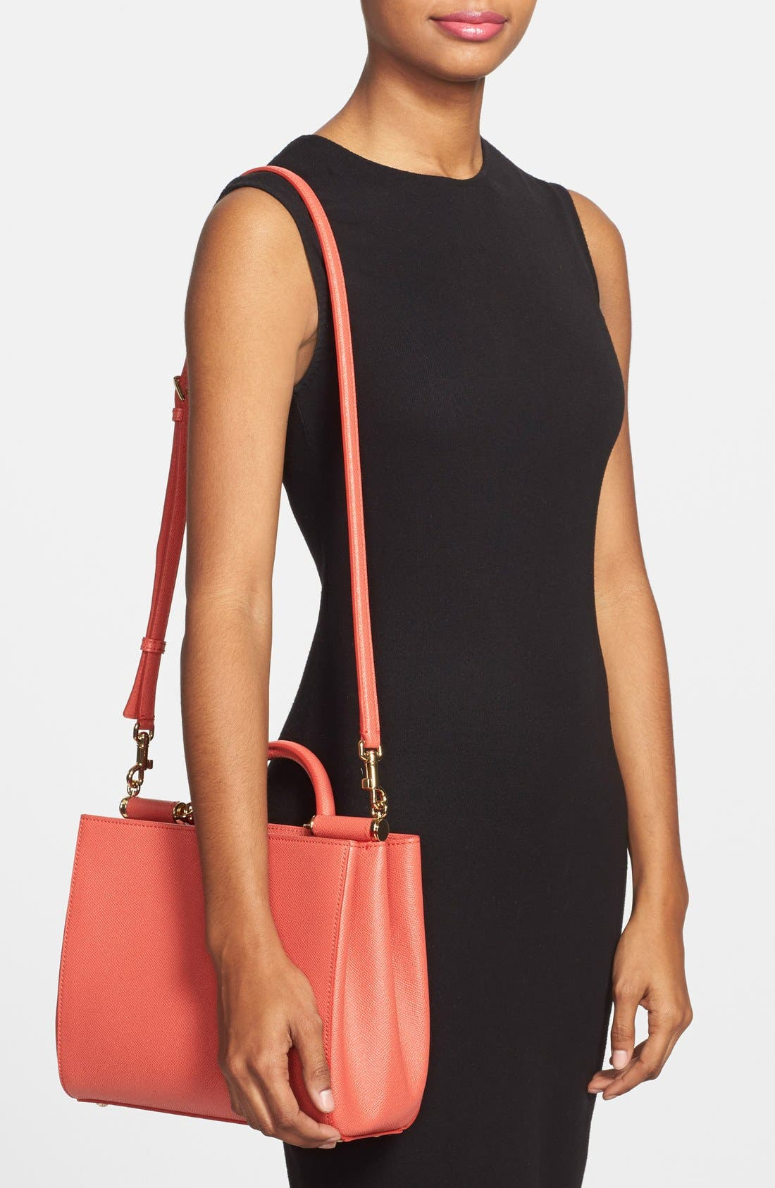 Alternate Image 2  - Dolce&Gabbana 'Small Miss Sicily - East West' Tote
