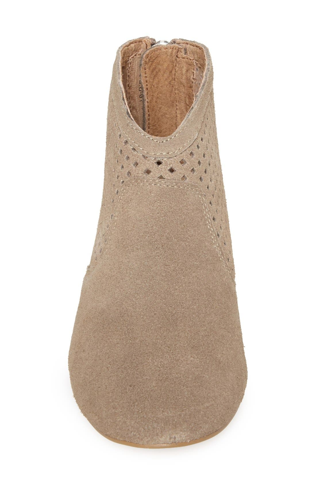 Alternate Image 3  - SIXTYSEVEN 'Sofia' Perforated Suede Bootie (Women)