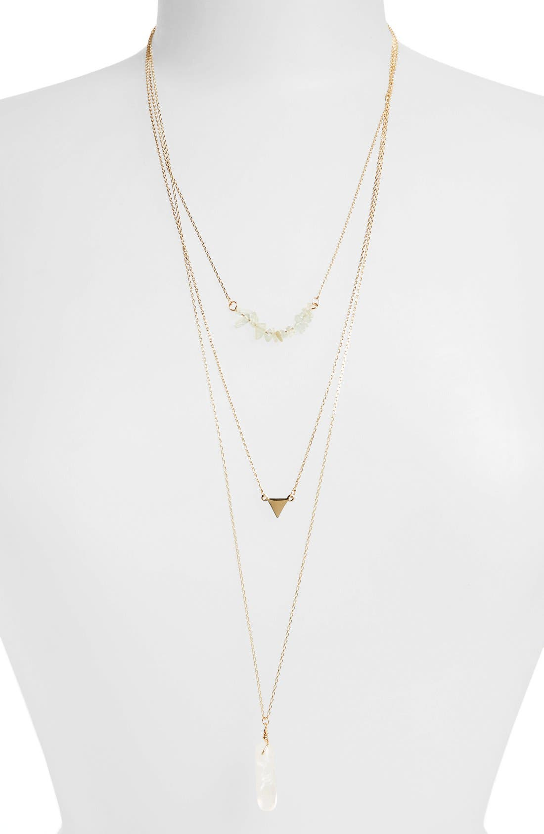 Main Image - BP. Stone Bar Layering Necklace (Juniors)
