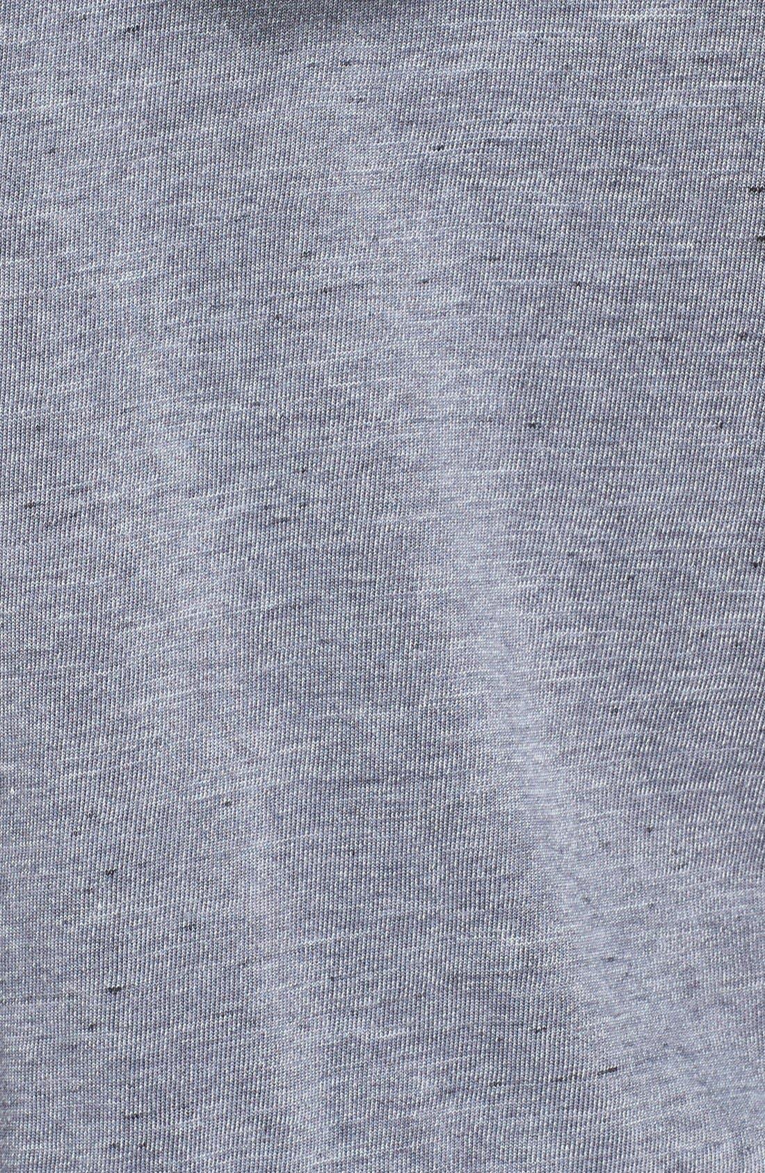 Alternate Image 3  - Monrow Burnout Zip Front Hoodie