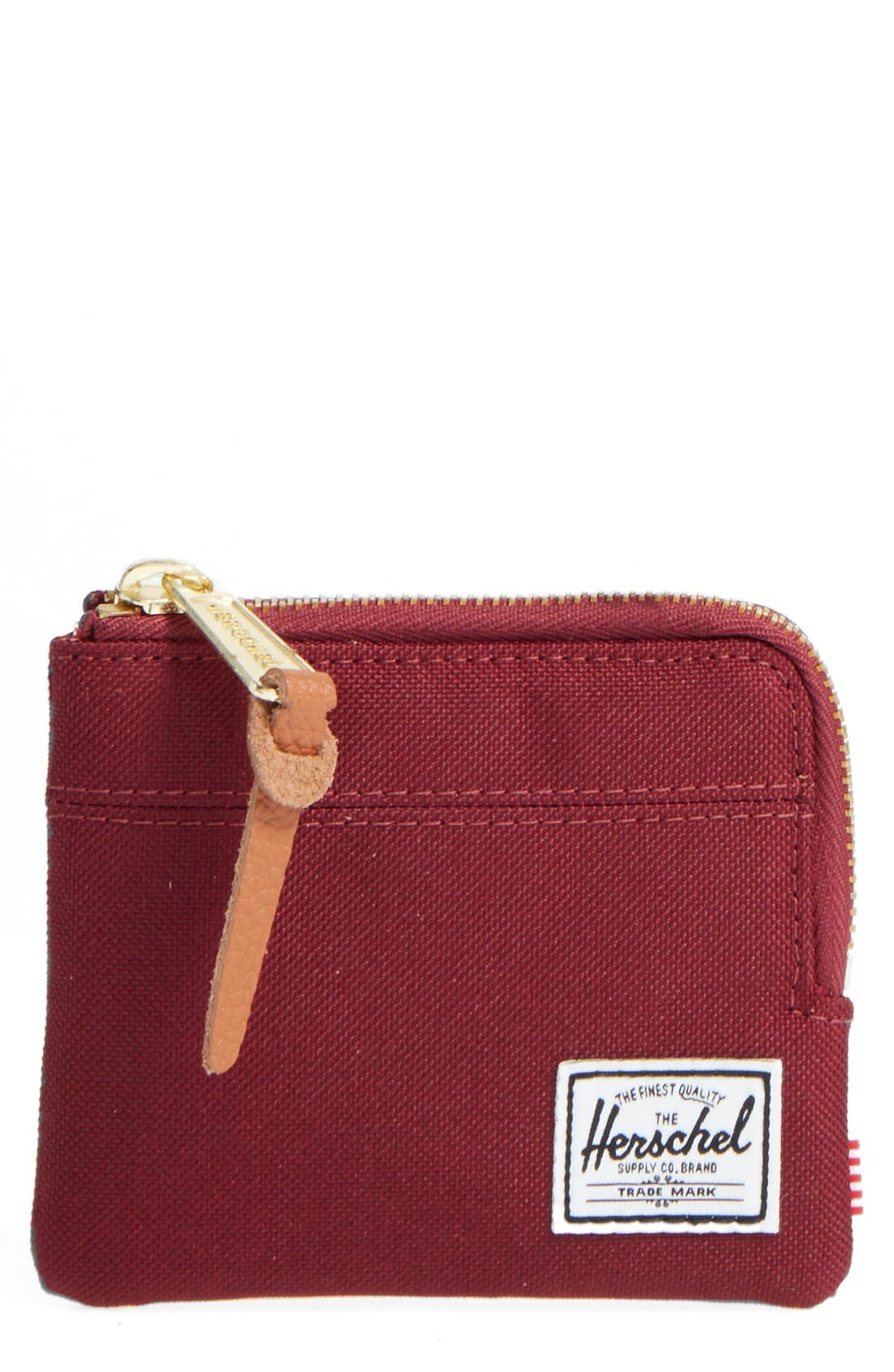 HERSCHEL SUPPLY CO. 'Johnny' Half Zip Wallet