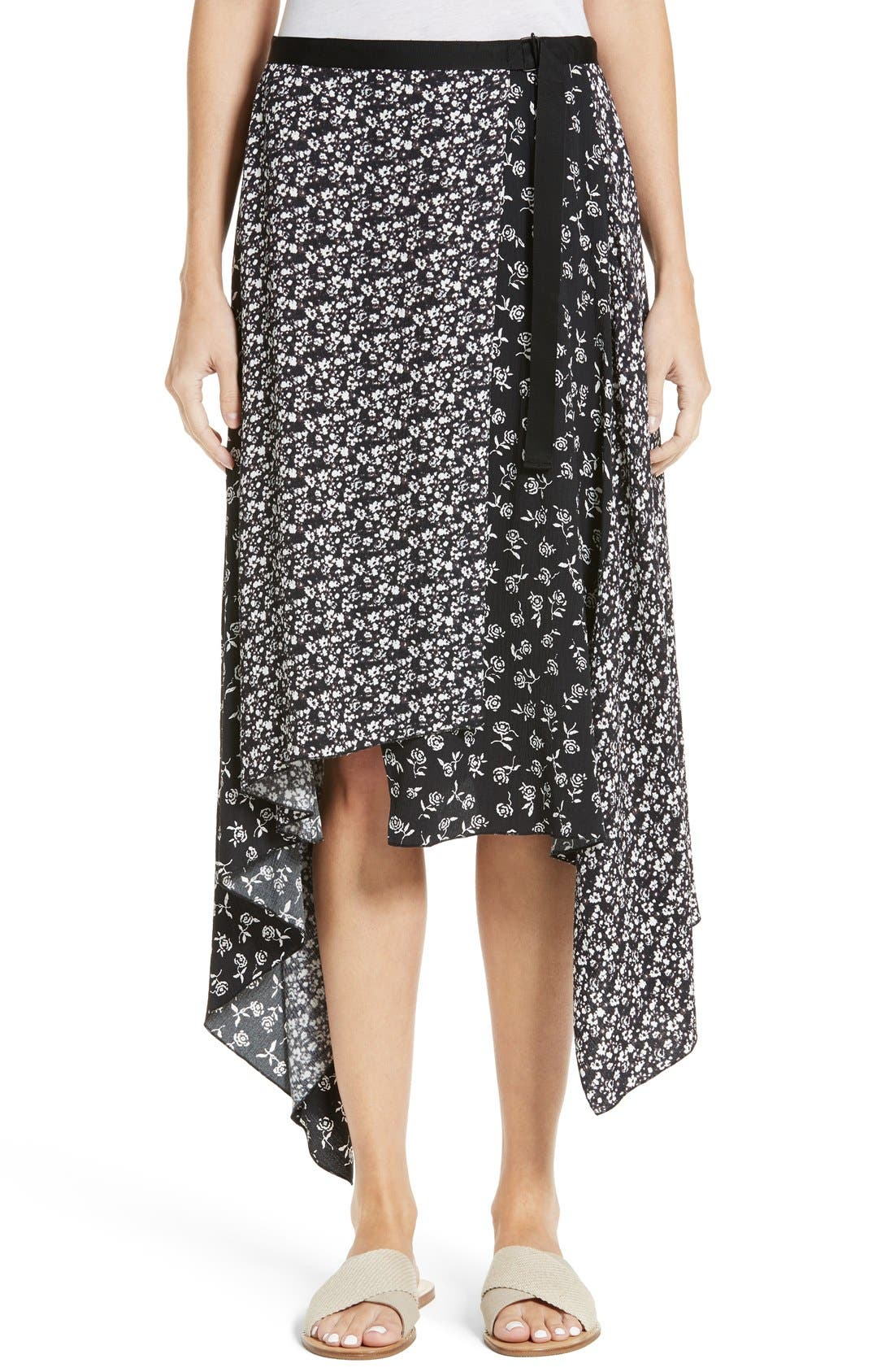 rag & bone Liv Wrap Skirt
