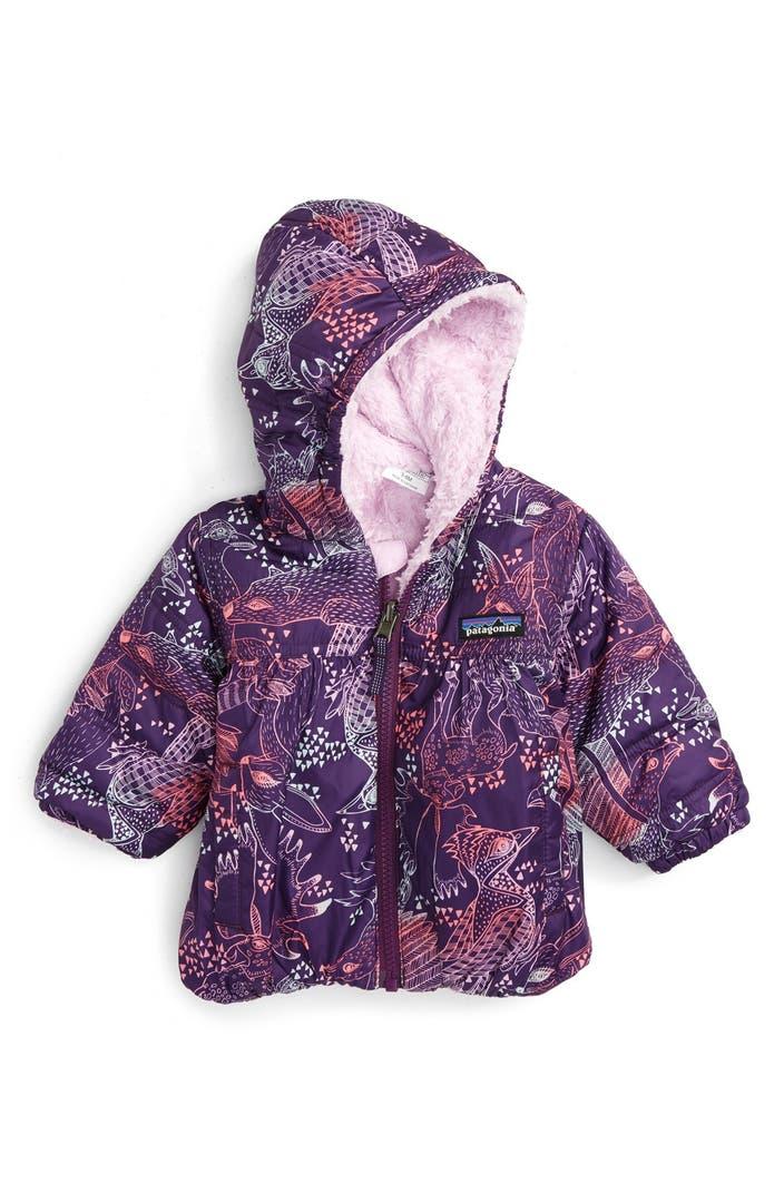 Patagonia Honey Puff Reversible Hooded Jacket Baby