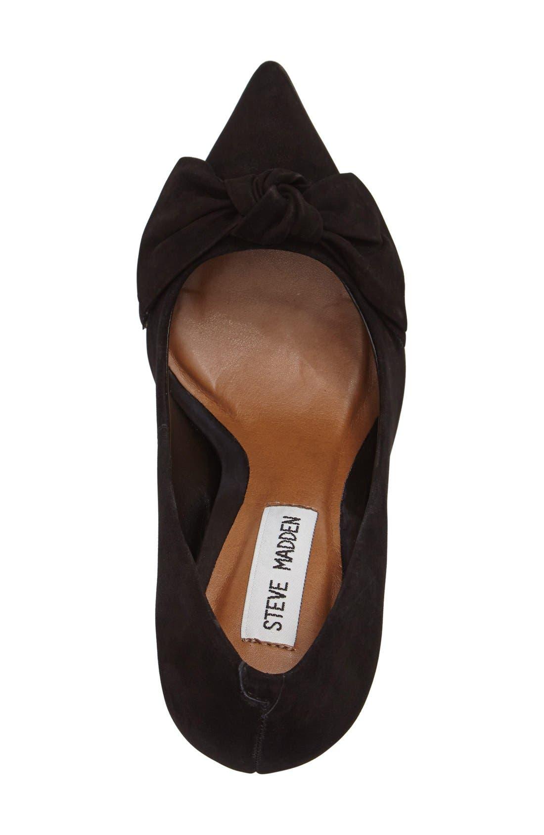 Alternate Image 3  - Steve Madden Token Pointy Toe Pump (Women)