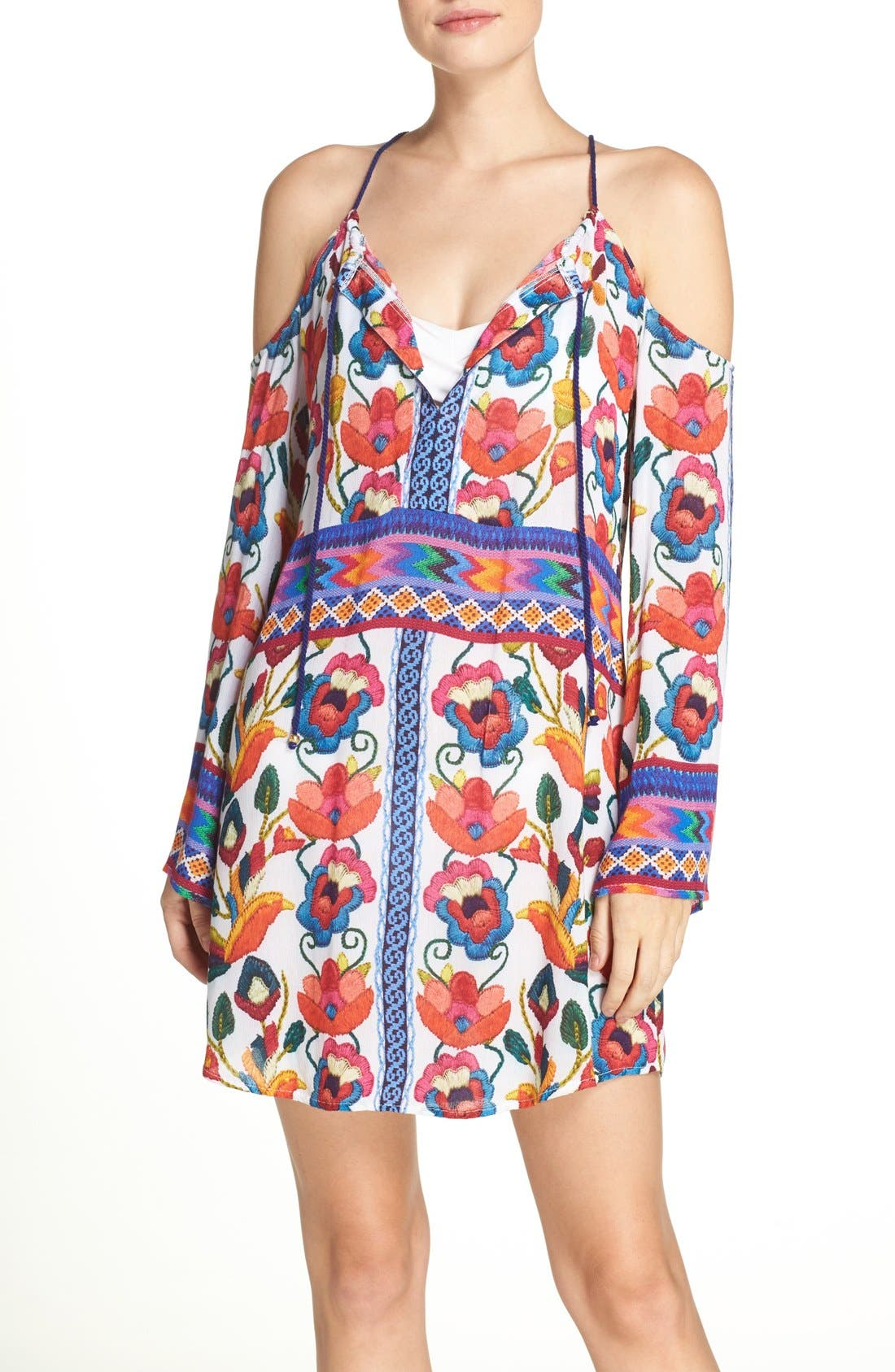 Alternate Image 1 Selected - Nanette Lepore Antigua Cover-Up Tunic