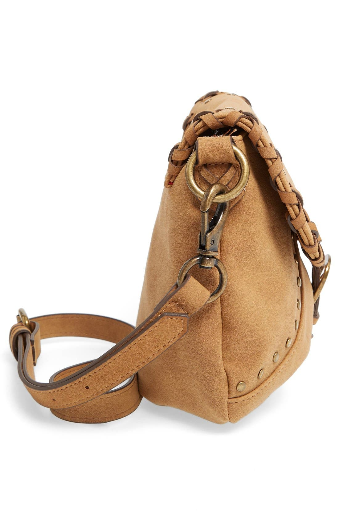 Alternate Image 3  - Elle & Jae Gypset Sevilla Studded Faux Suede Crossbody Bag