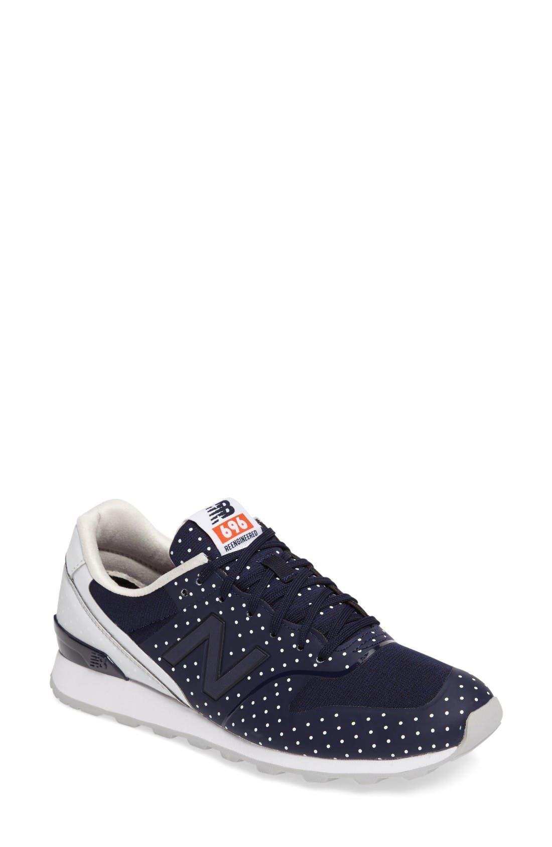 Alternate Image 1 Selected - New Balance 696 Sneaker (Women)