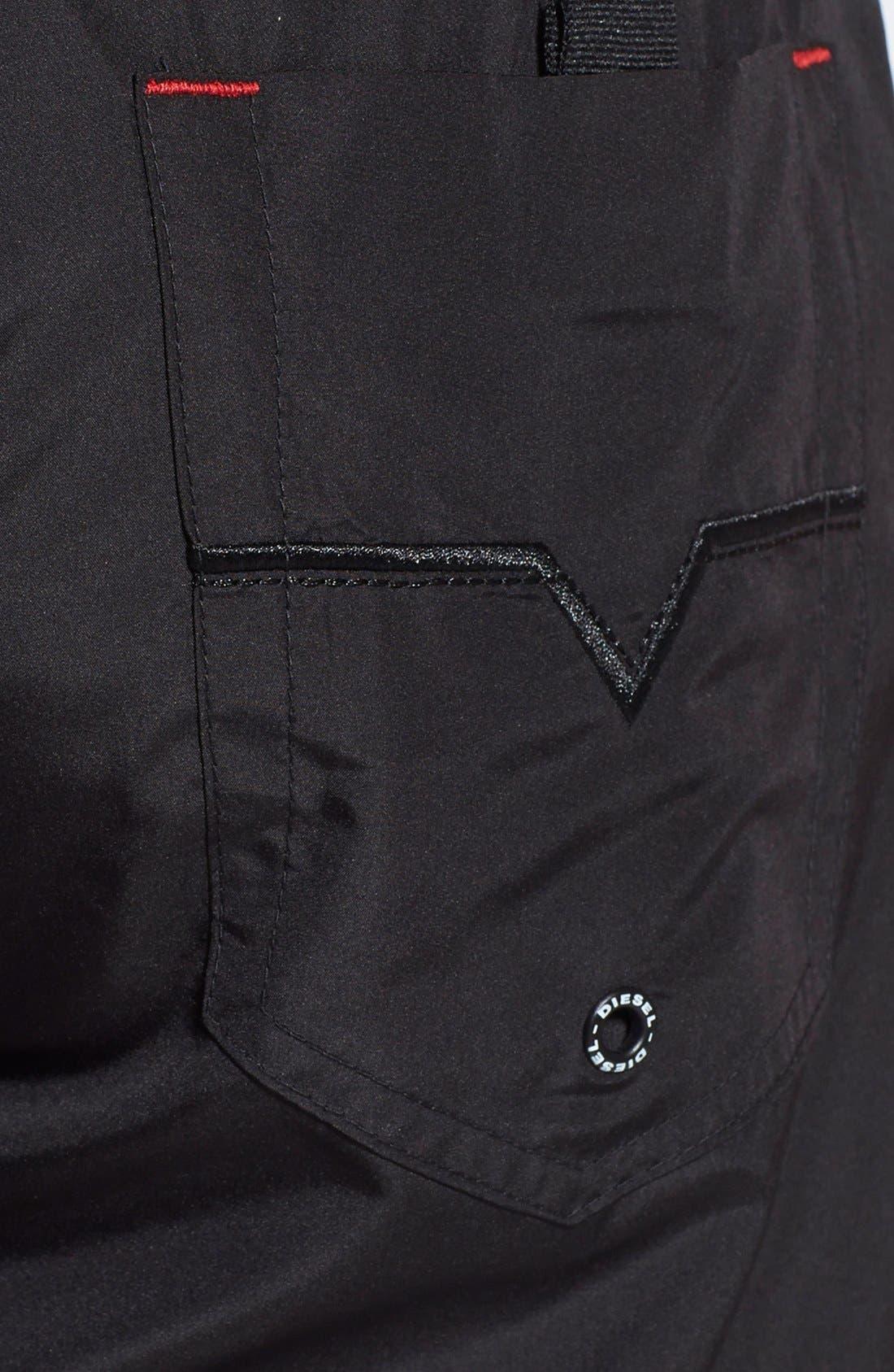 Alternate Image 3  - DIESEL® 'Marked' Swim Trunks