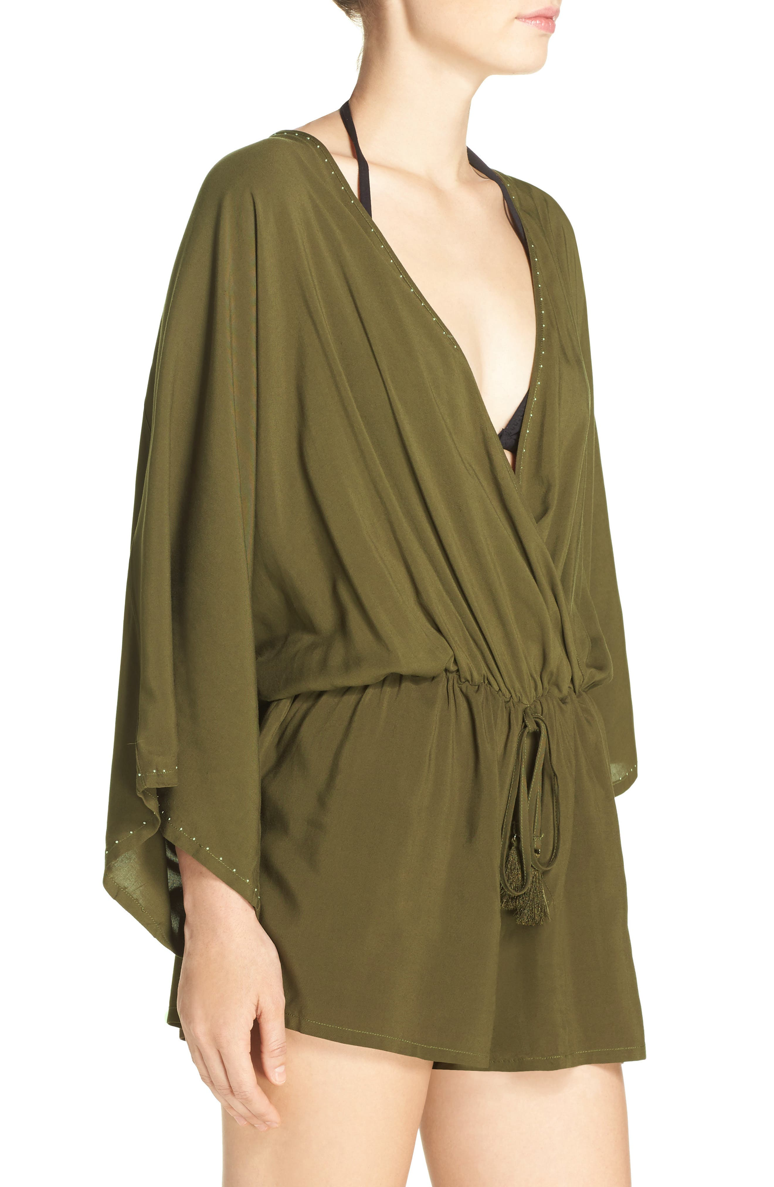 Alternate Image 3  - Vince Camuto Cover-Up Romper