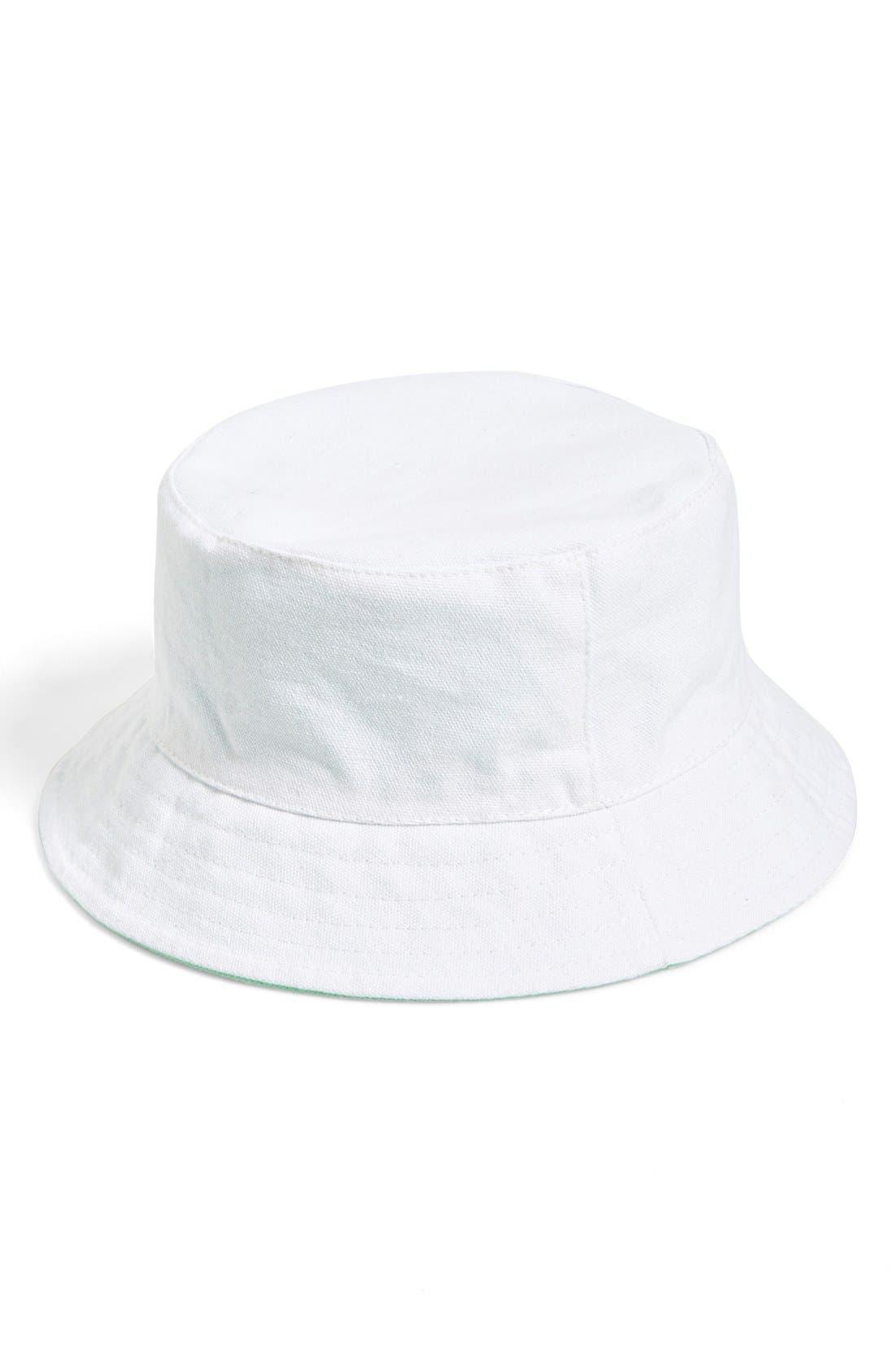 Alternate Image 2  - Amici Accessories Reversible Bucket Hat (Juniors)