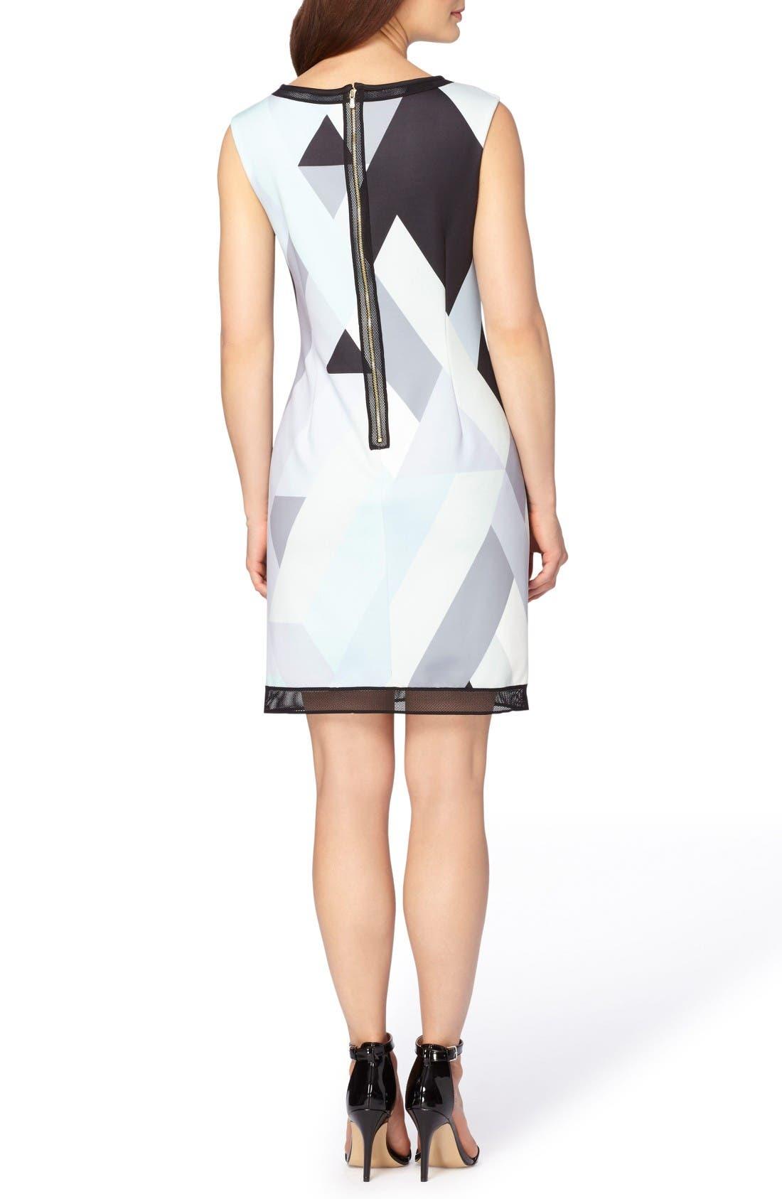 Alternate Image 2  - Tahari Print Scuba Sheath Dress (Regular & Petite)