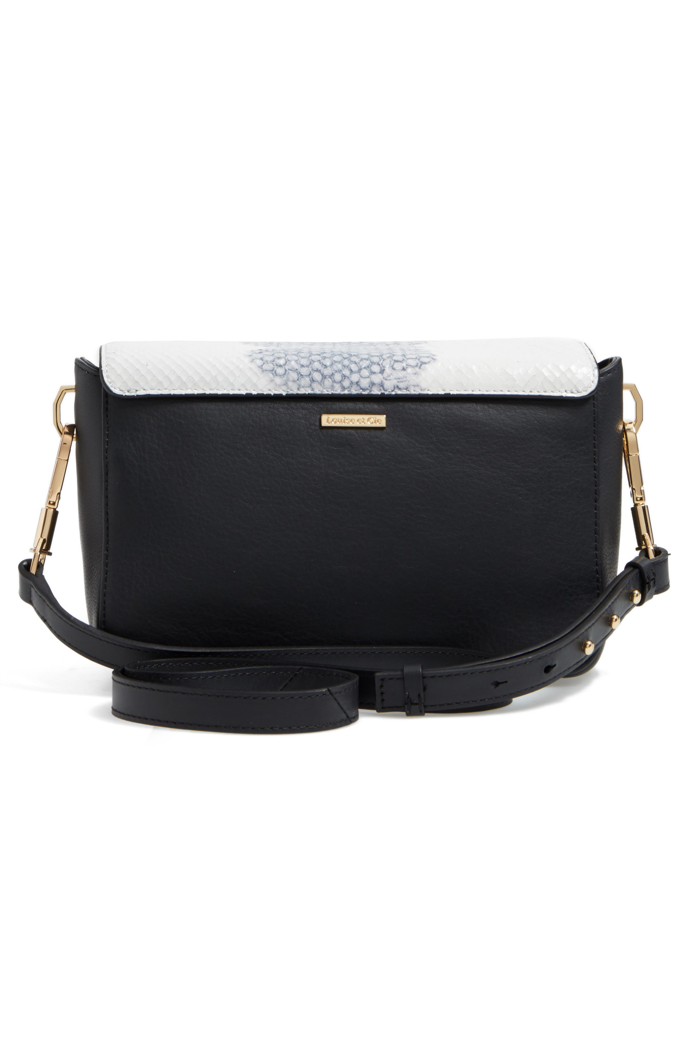 Alternate Image 3  - Louise et Cie 'Small Alis' Leather Crossbody Bag