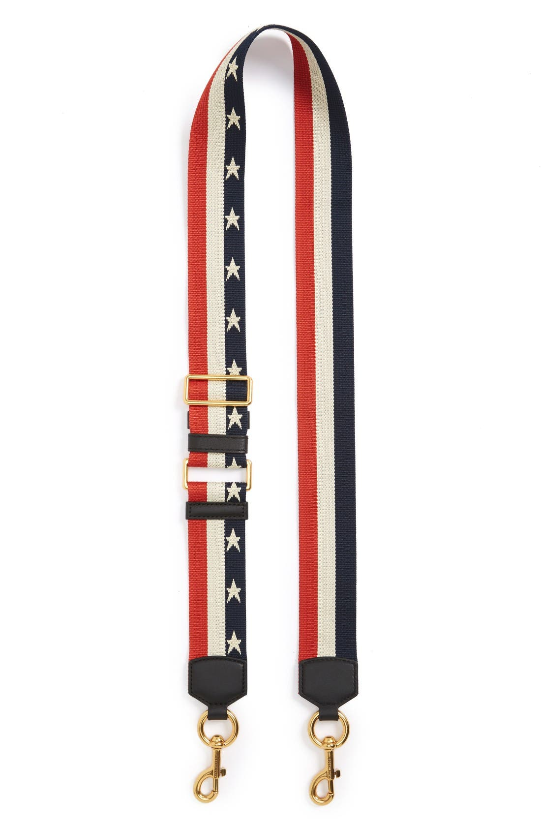 MARC JACOBS Stars & Stripes Guitar Bag Strap