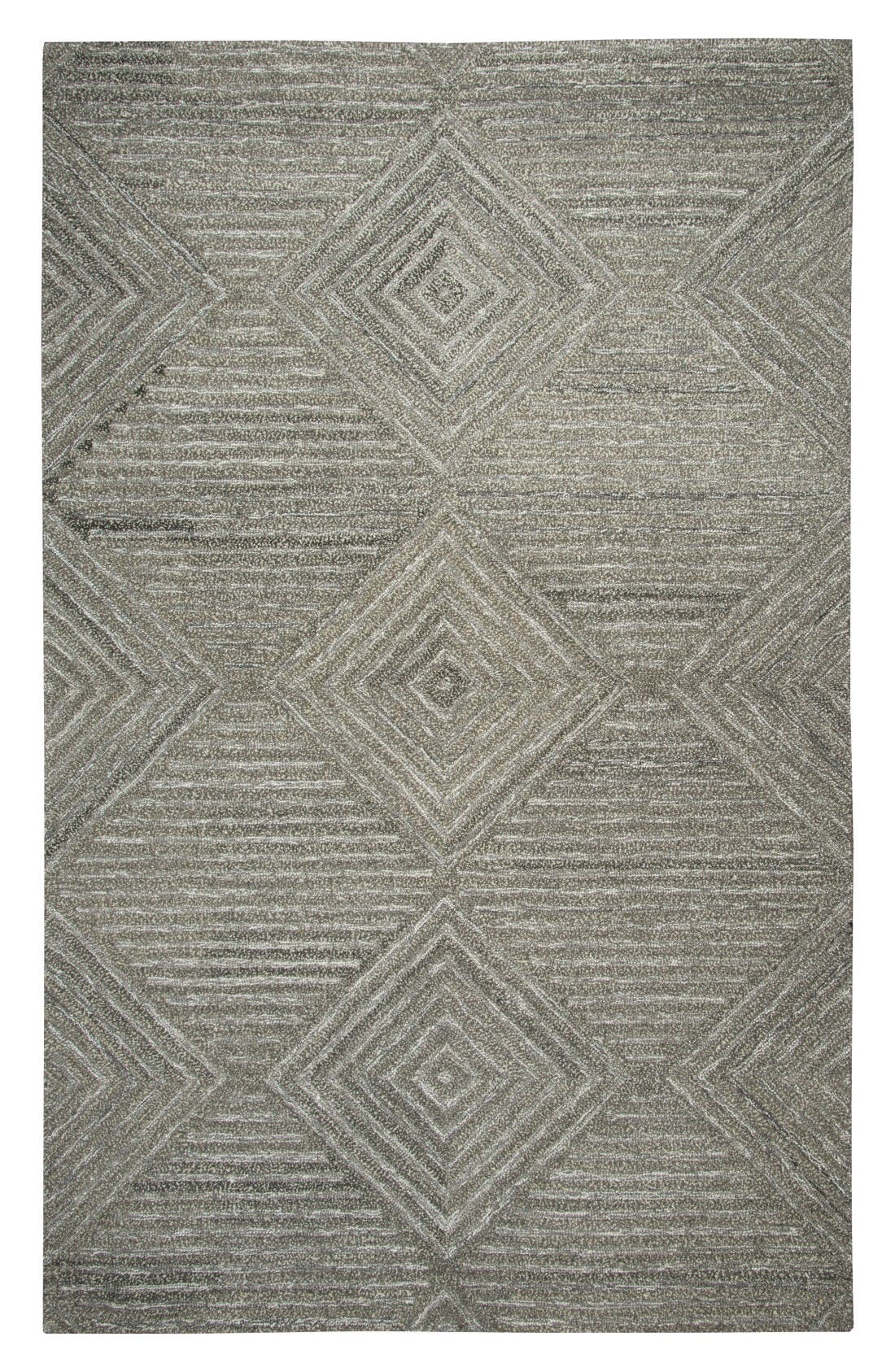 Rizzy Home Serenity Hand Tufted Wool Area Rug