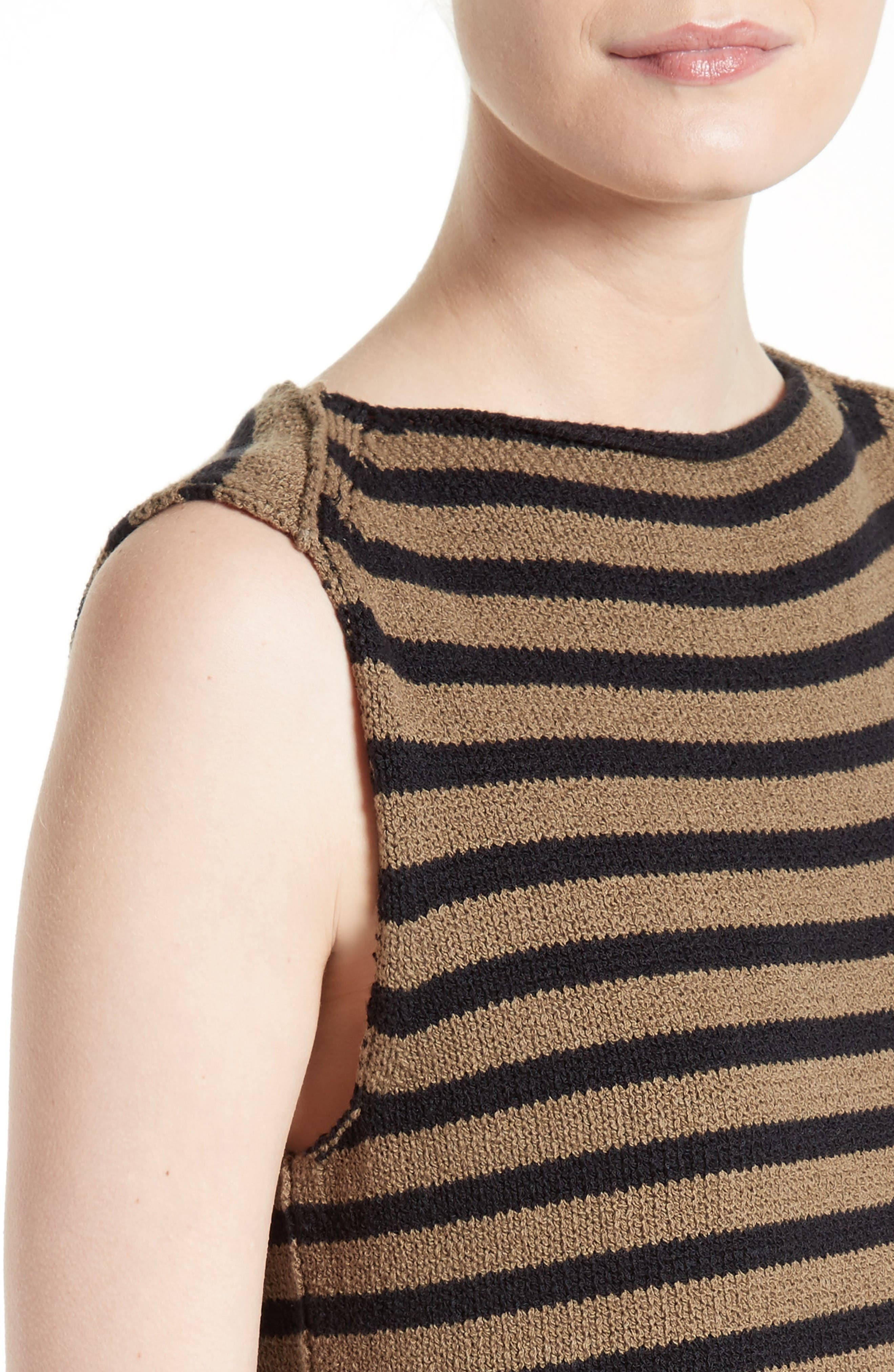 Alternate Image 4  - Vince Stripe Knit Tank