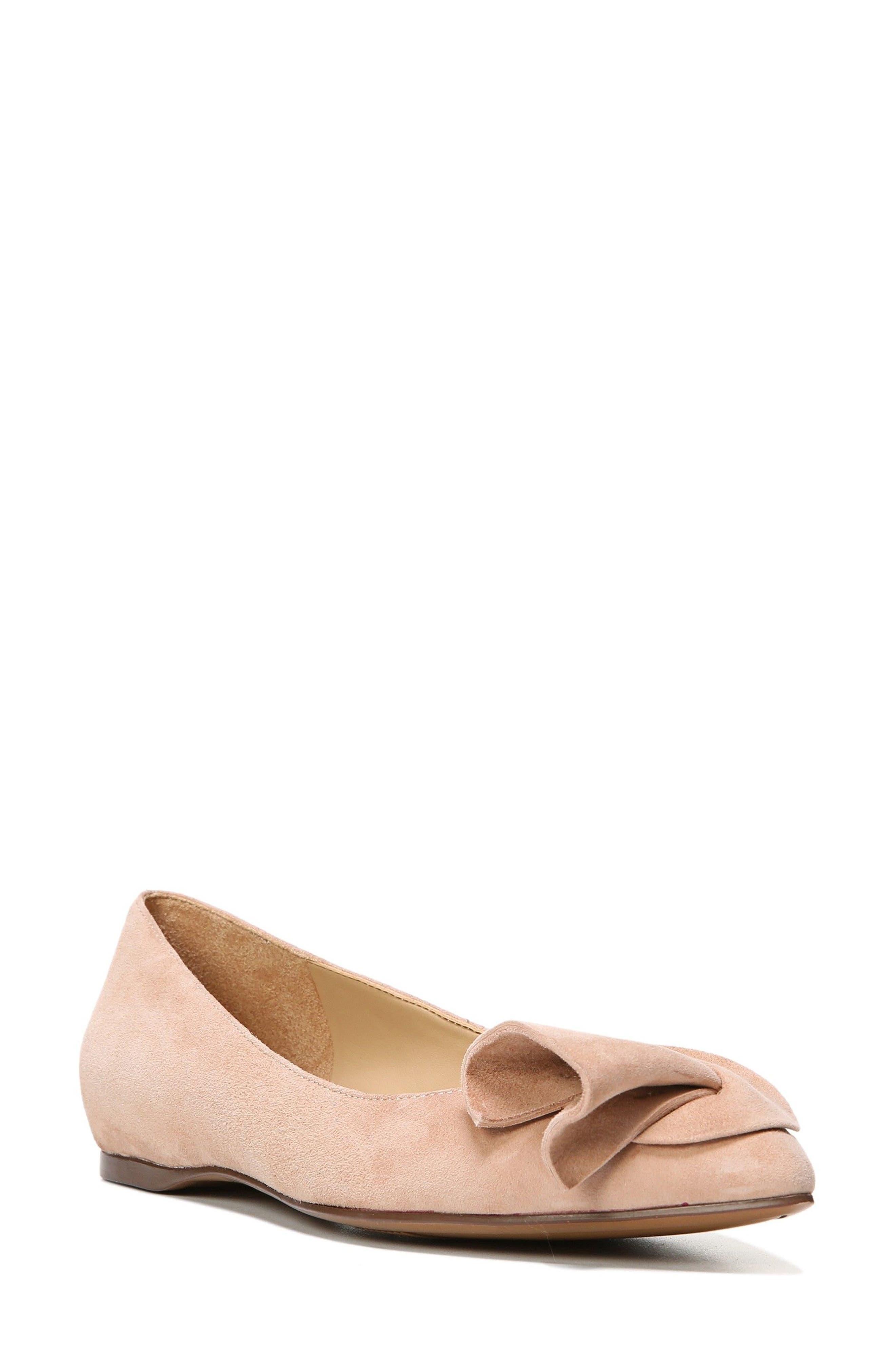 Naturalizer Sarah Pointy Toe Flat (Women)