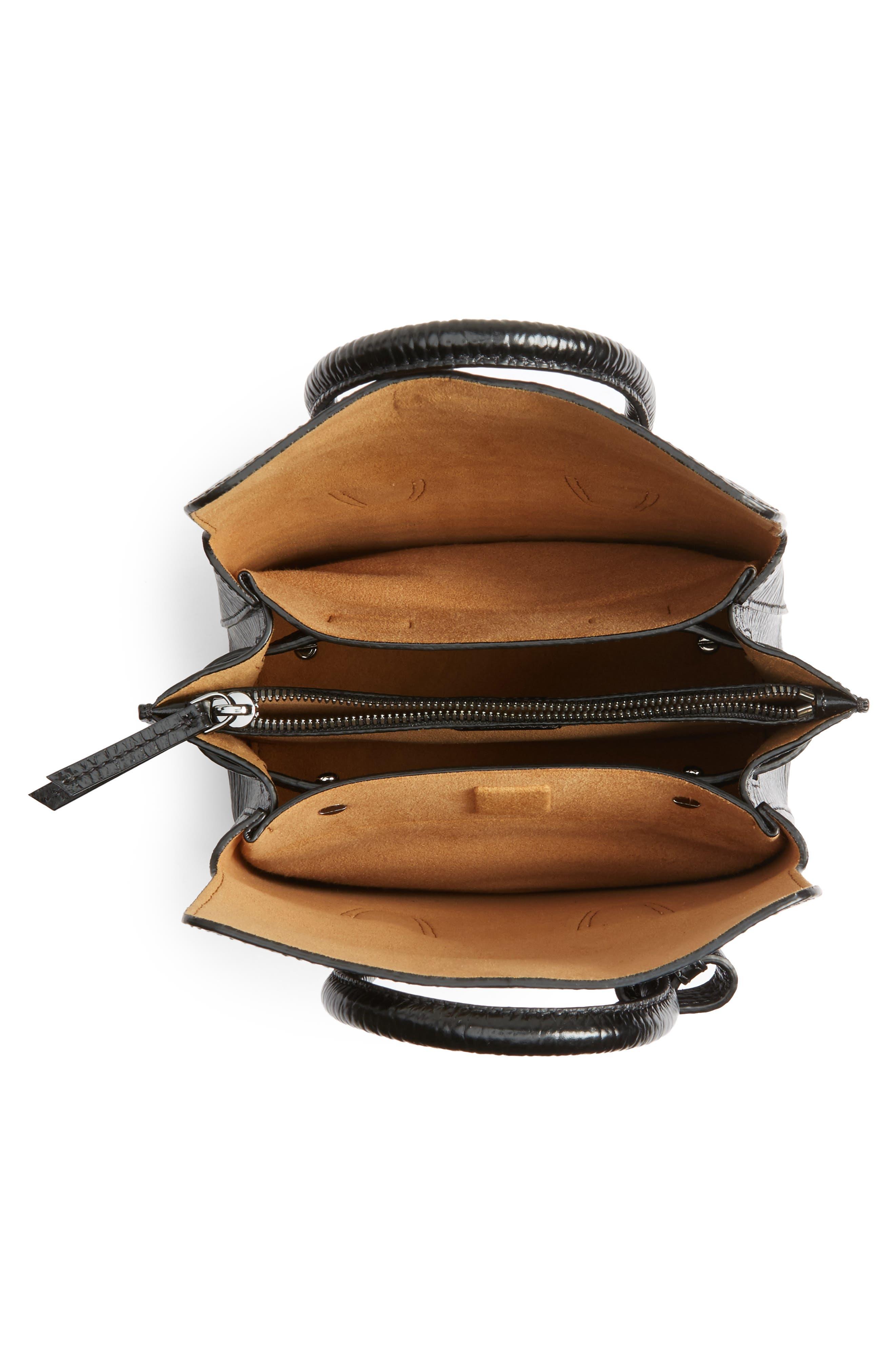 Alternate Image 4  - MCM Mini Milla Studs Leather Tote