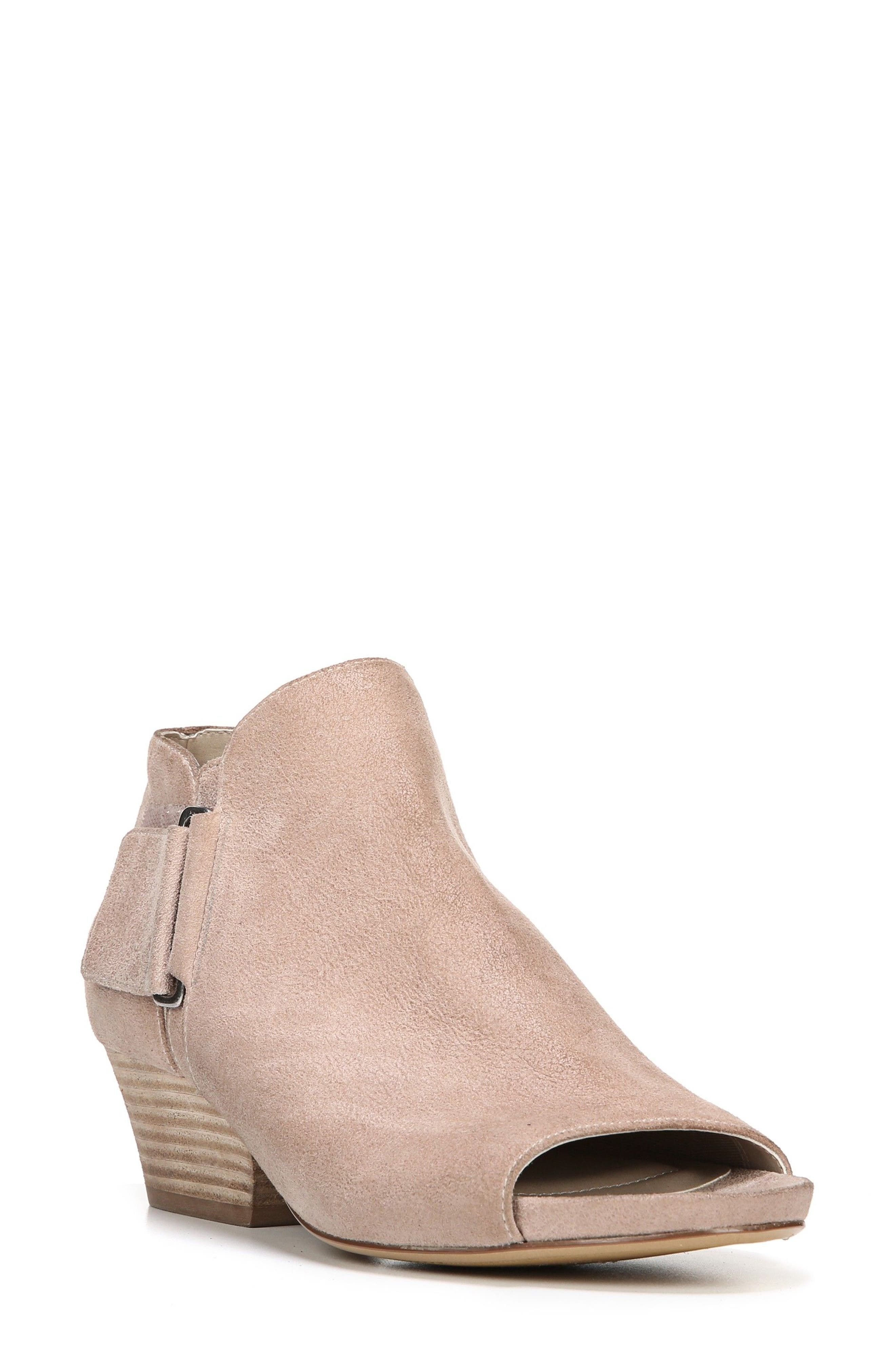 Naturalizer Gemi Peep Toe Bootie (Women)
