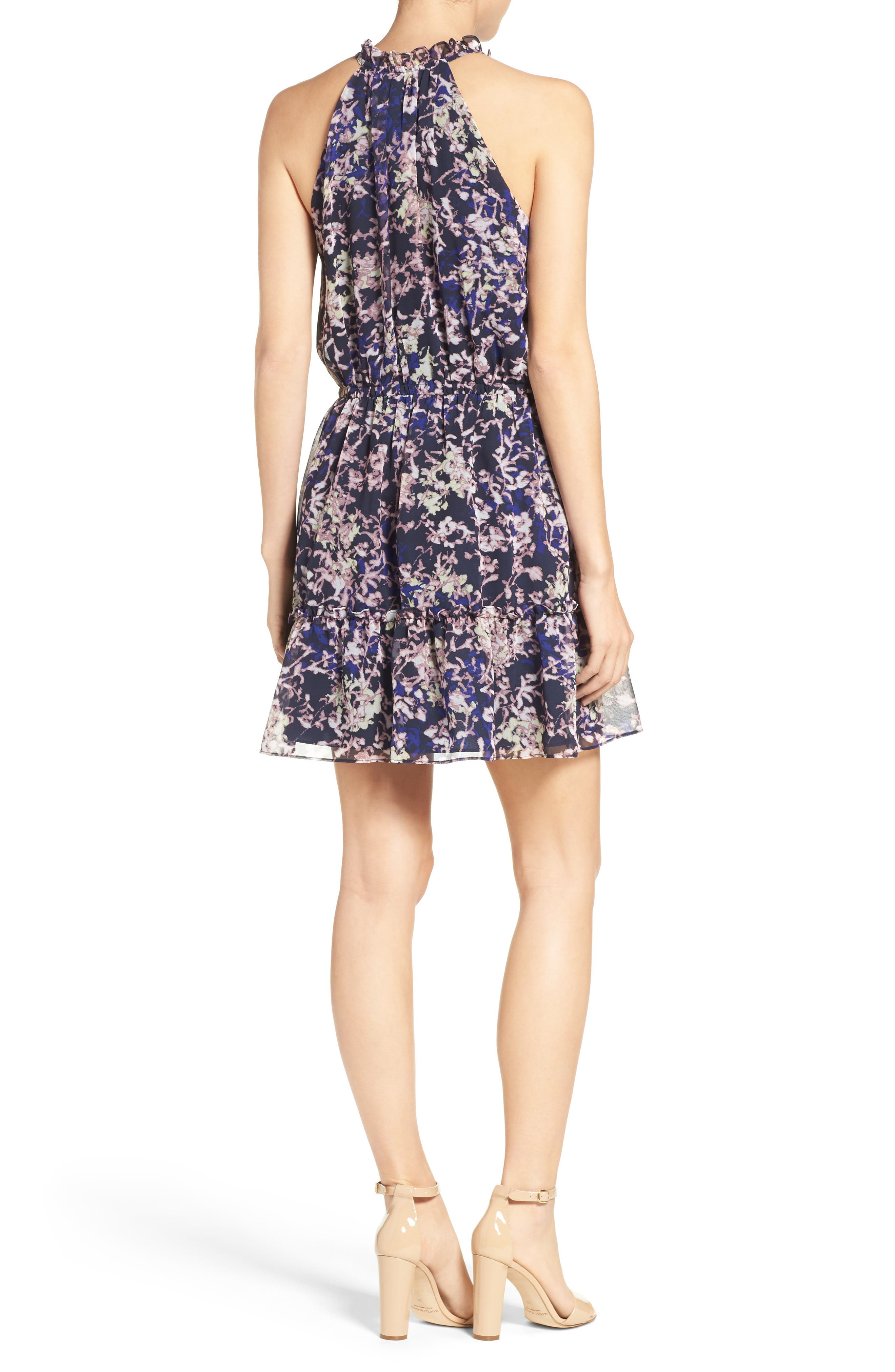 Alternate Image 2  - Likely Ibiza Floral Norfolk Dress