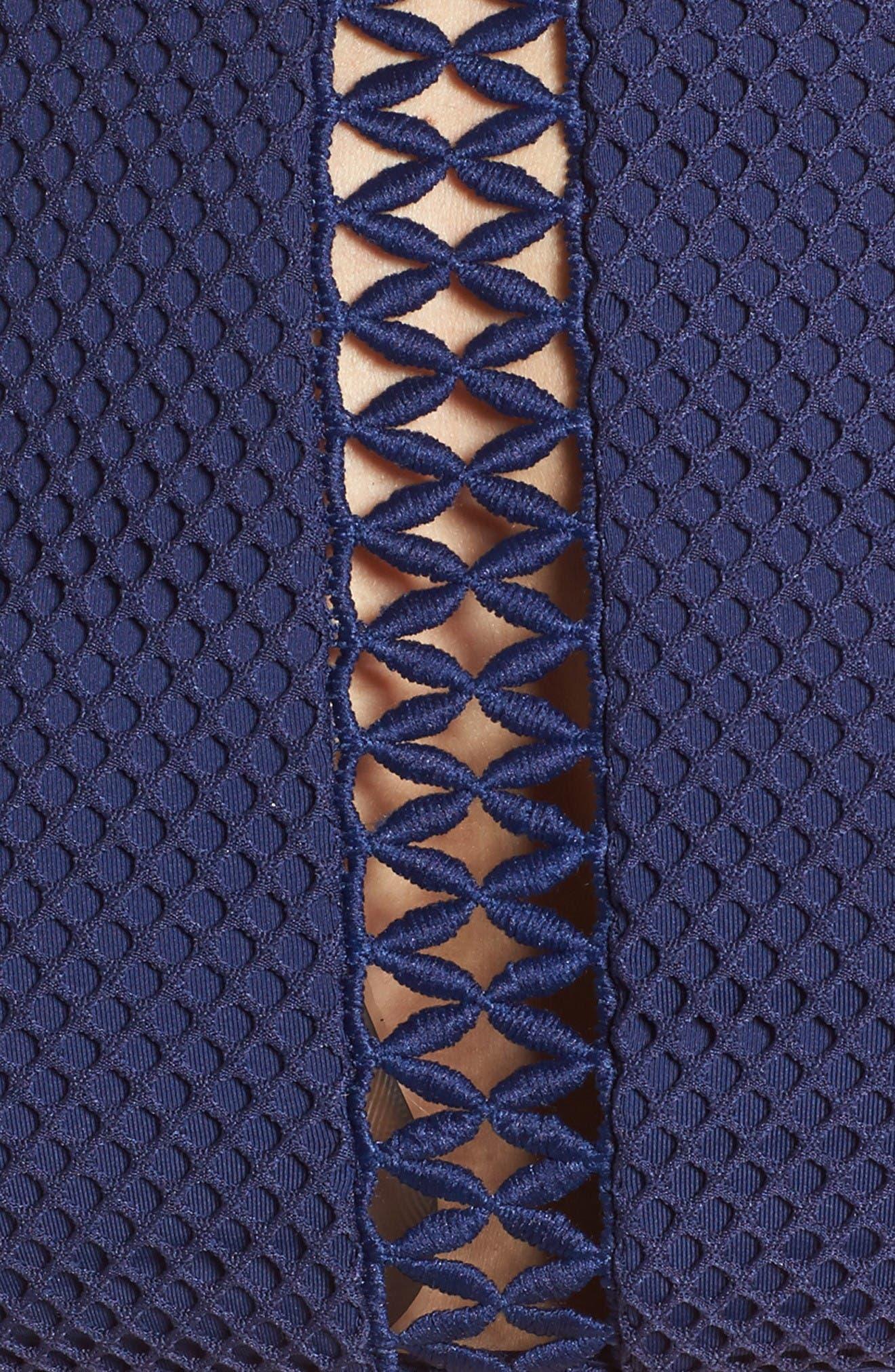 Alternate Image 5  - Rip Curl Joyride High Neck Bikini Top