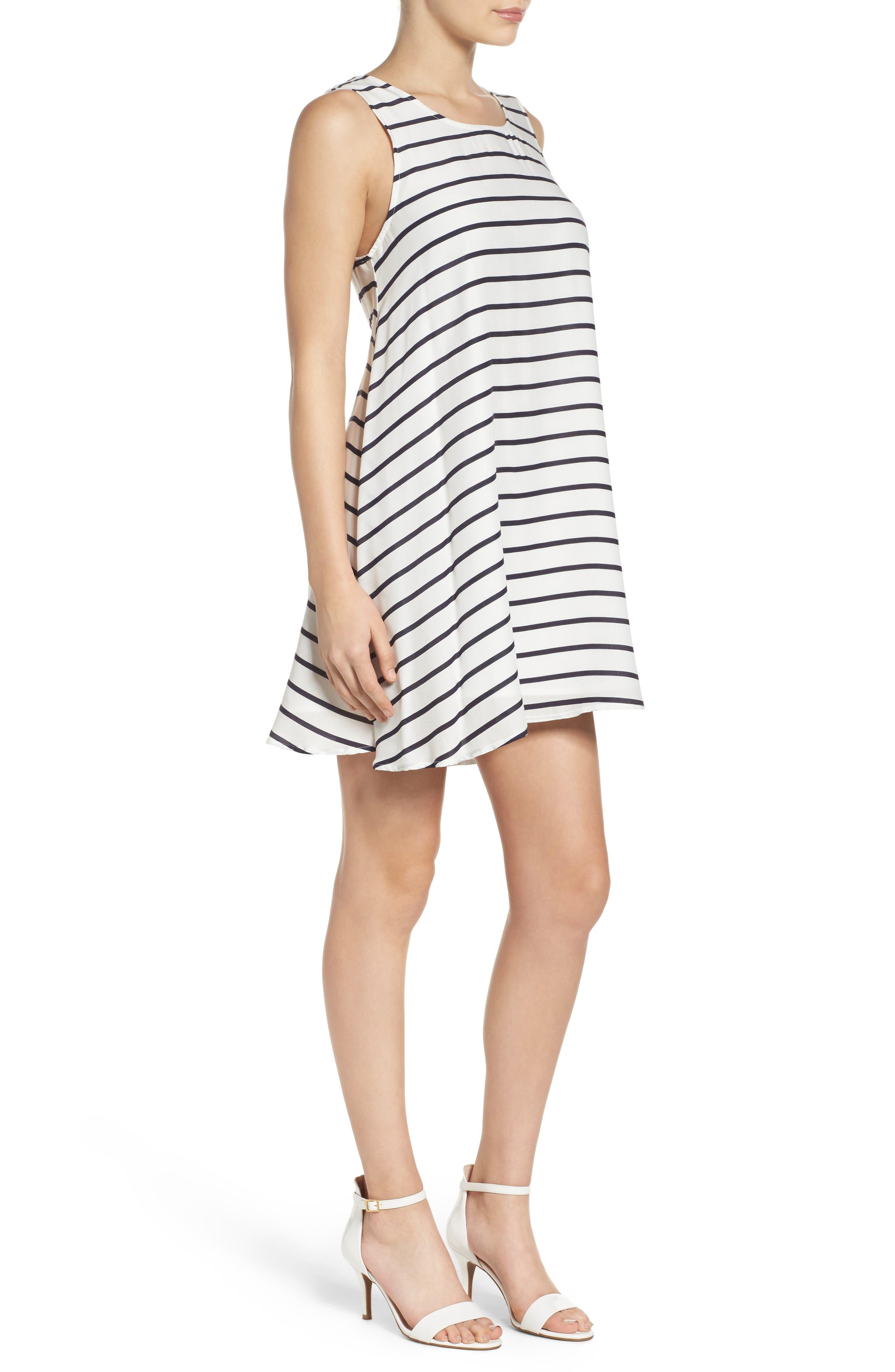 Alternate Image 3  - BB Dakota Shaye Trapeze Dress