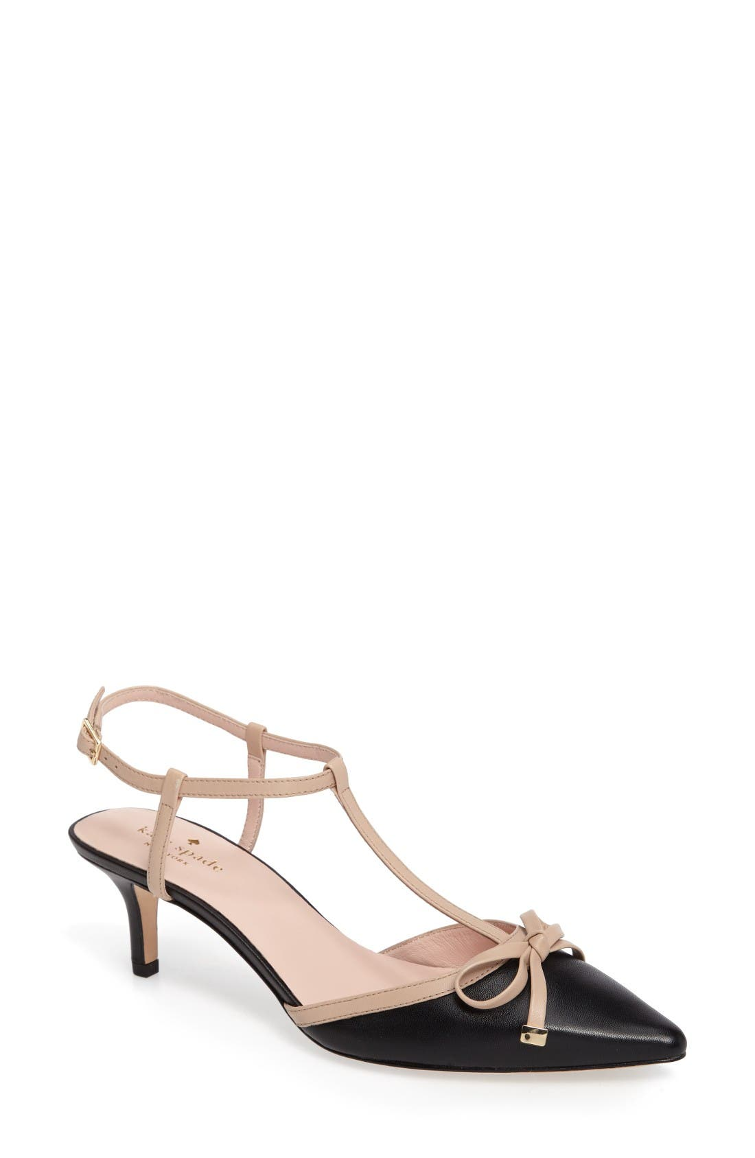 kate spade new york pomona pointy toe pump (Women)