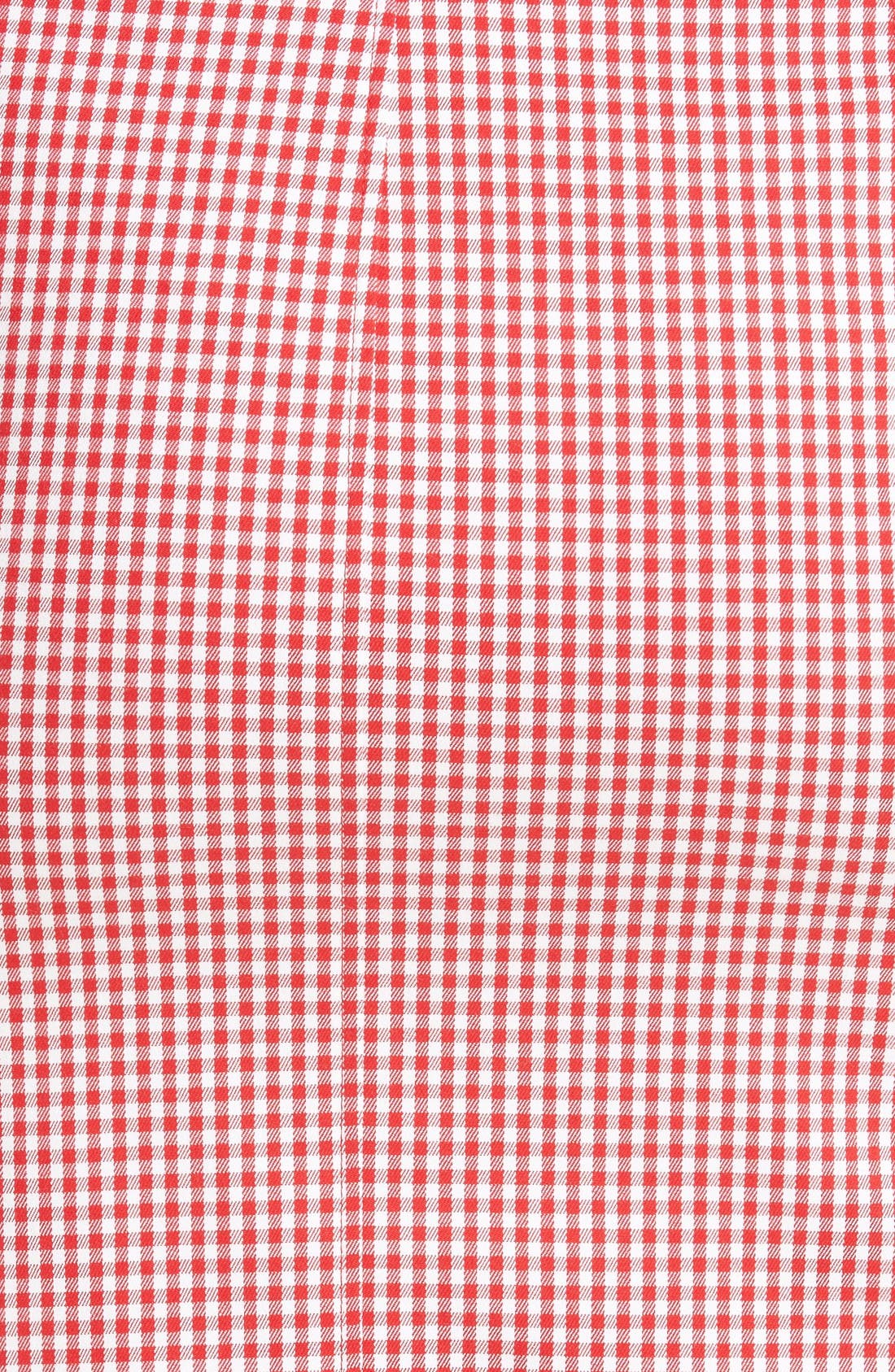 Alternate Image 3  - Altuzarra Wilcox Gingham Stretch Cotton Skirt