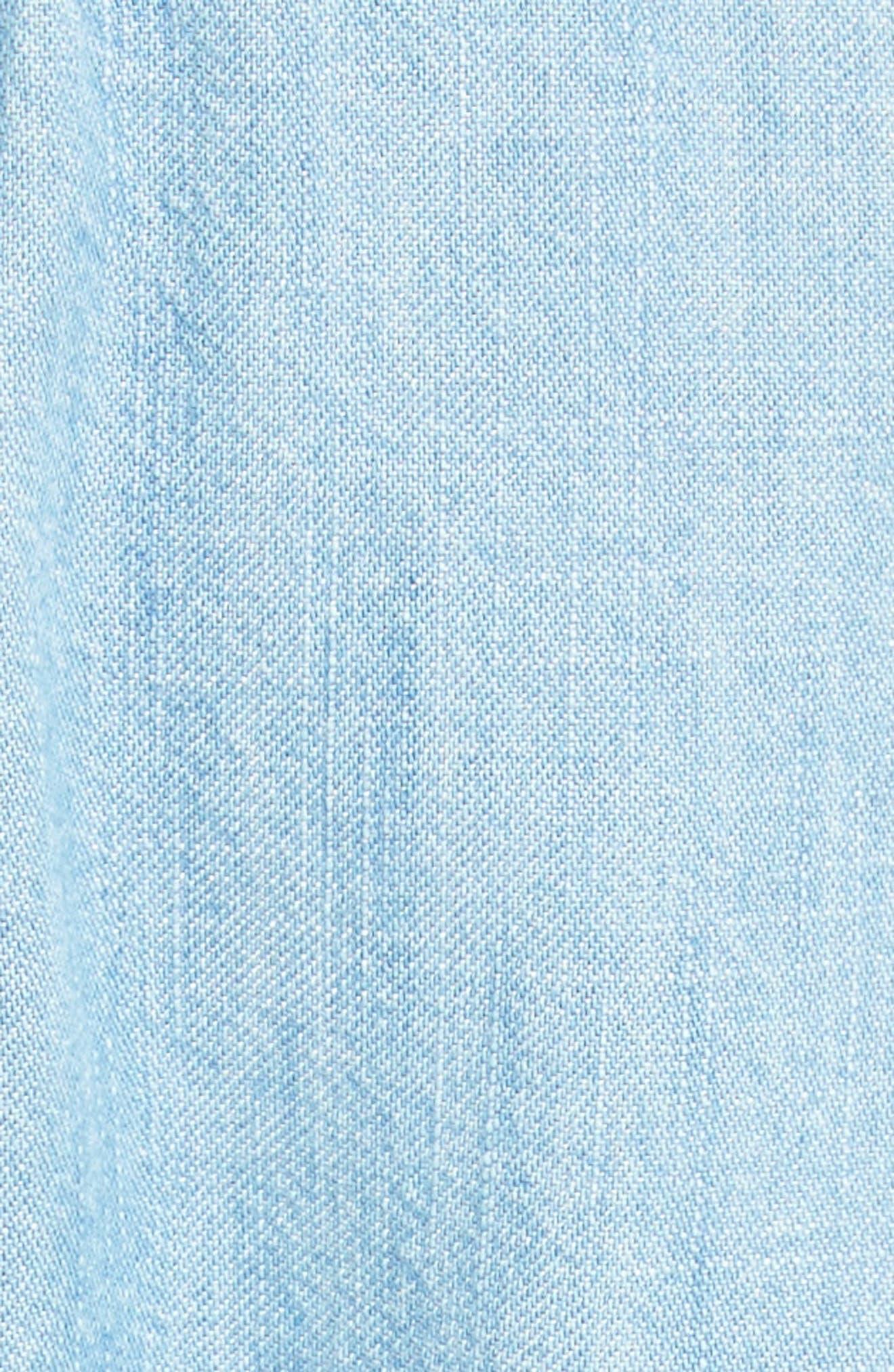 Alternate Image 5  - Soft Joie Milli Chambray Shirtdress