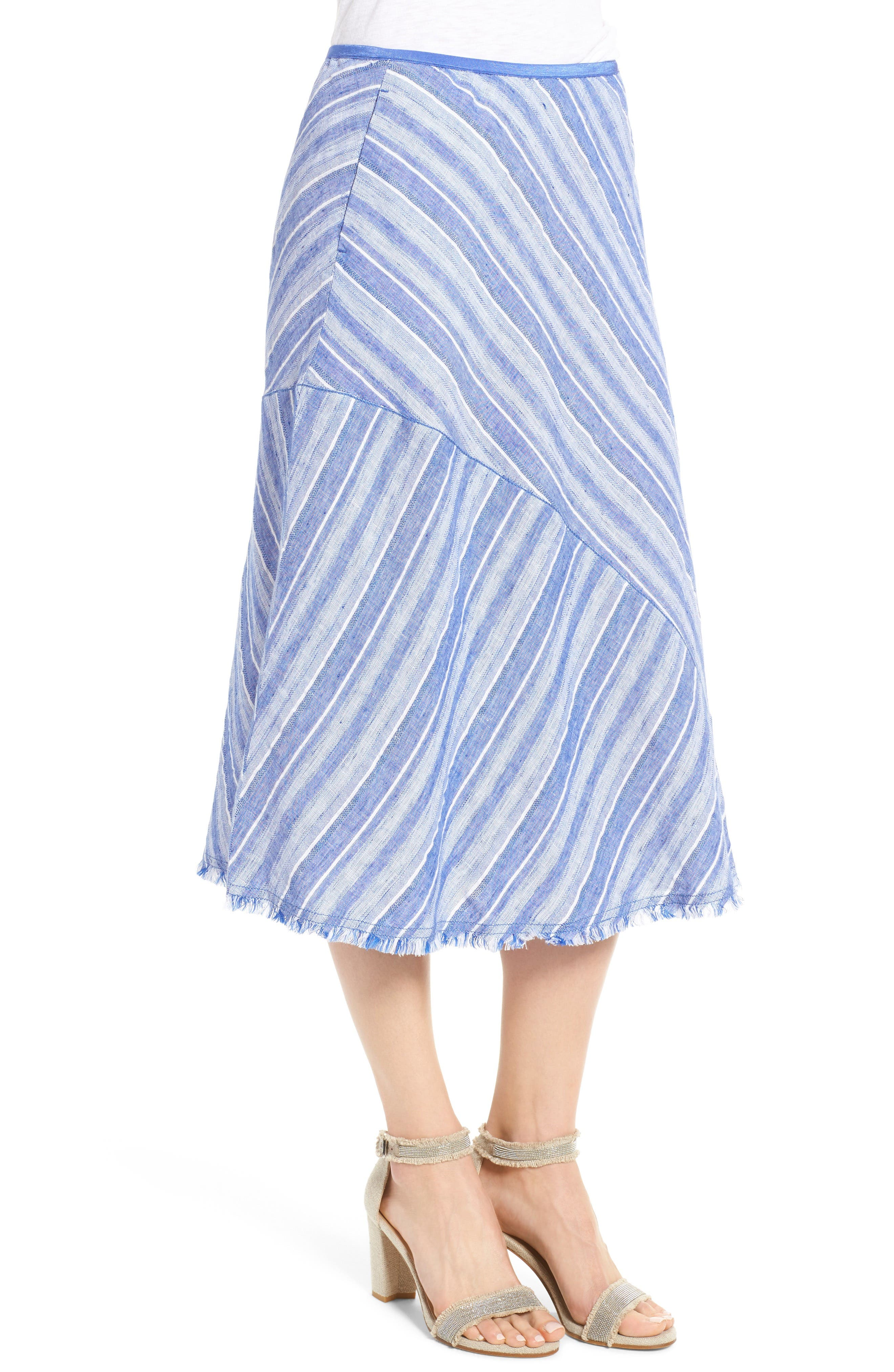 Alternate Image 3  - NIC+ZOE Freshwater A-Line Skirt