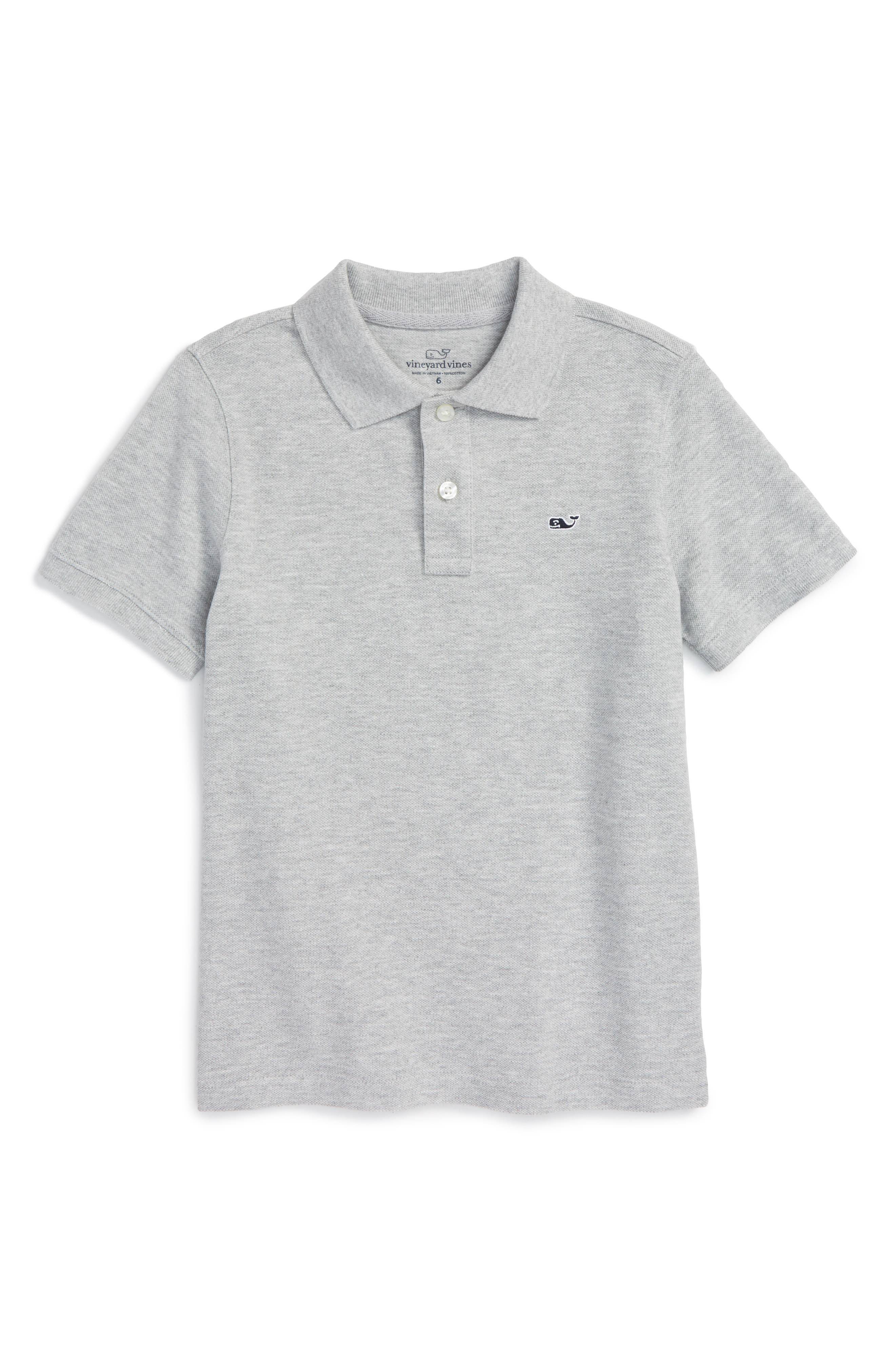 Vineyard Vines Piqué Cotton Polo (Toddler Boys & Little Boys)