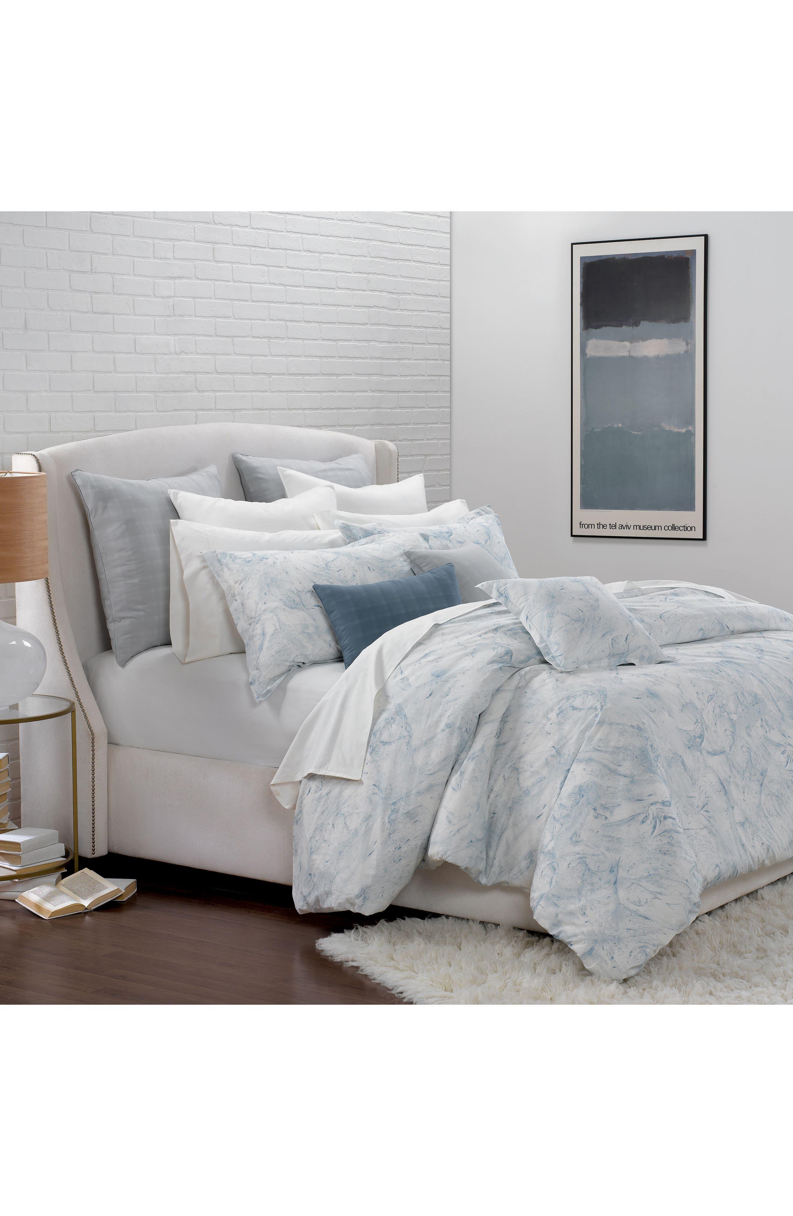 Portico Glacier Bay Organic Cotton Duvet Cover