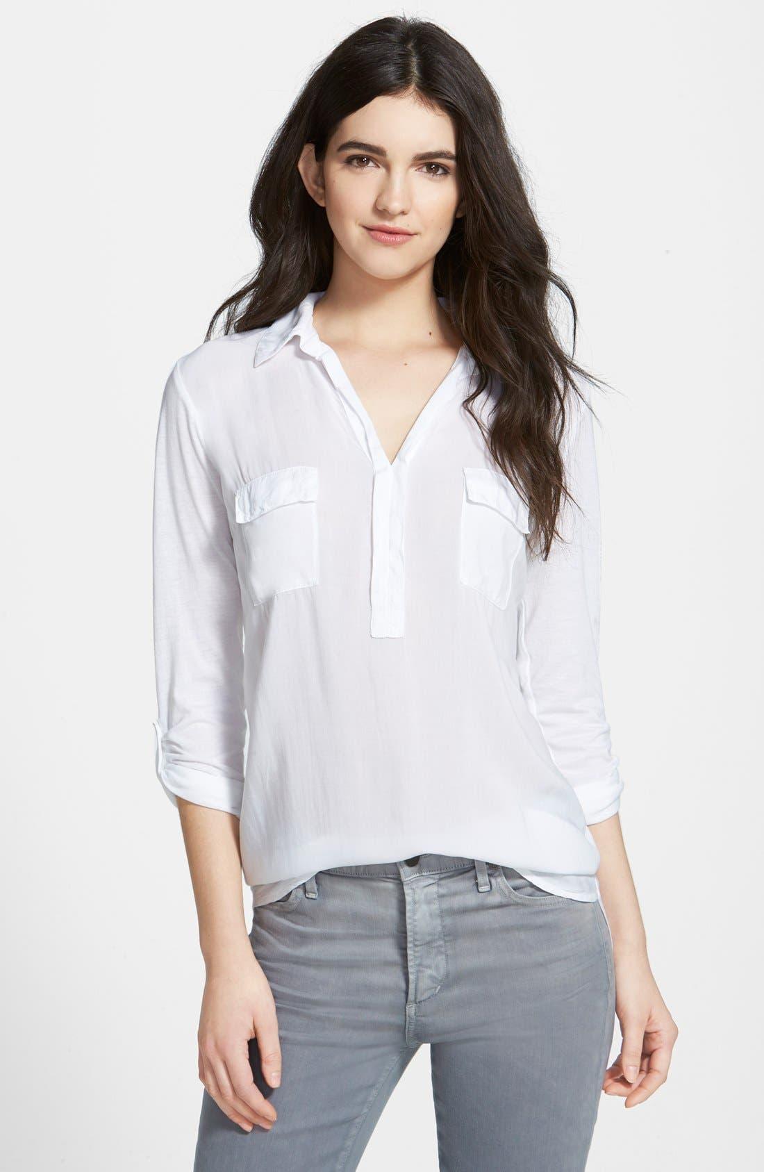 Splendid Lightweight Chest Pocket Shirt