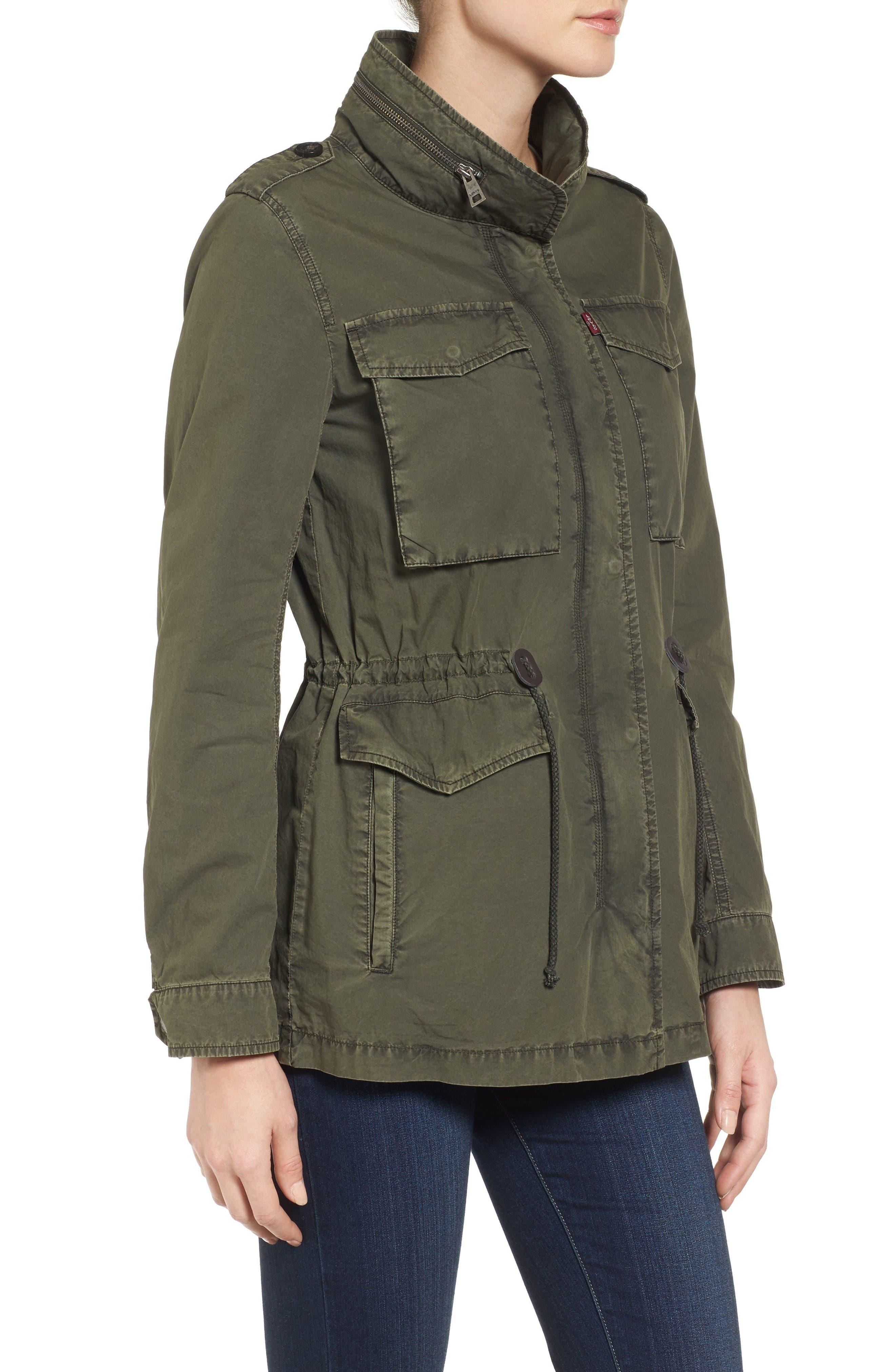 Alternate Image 3  - Levi's® Four-Pocket Military Jacket