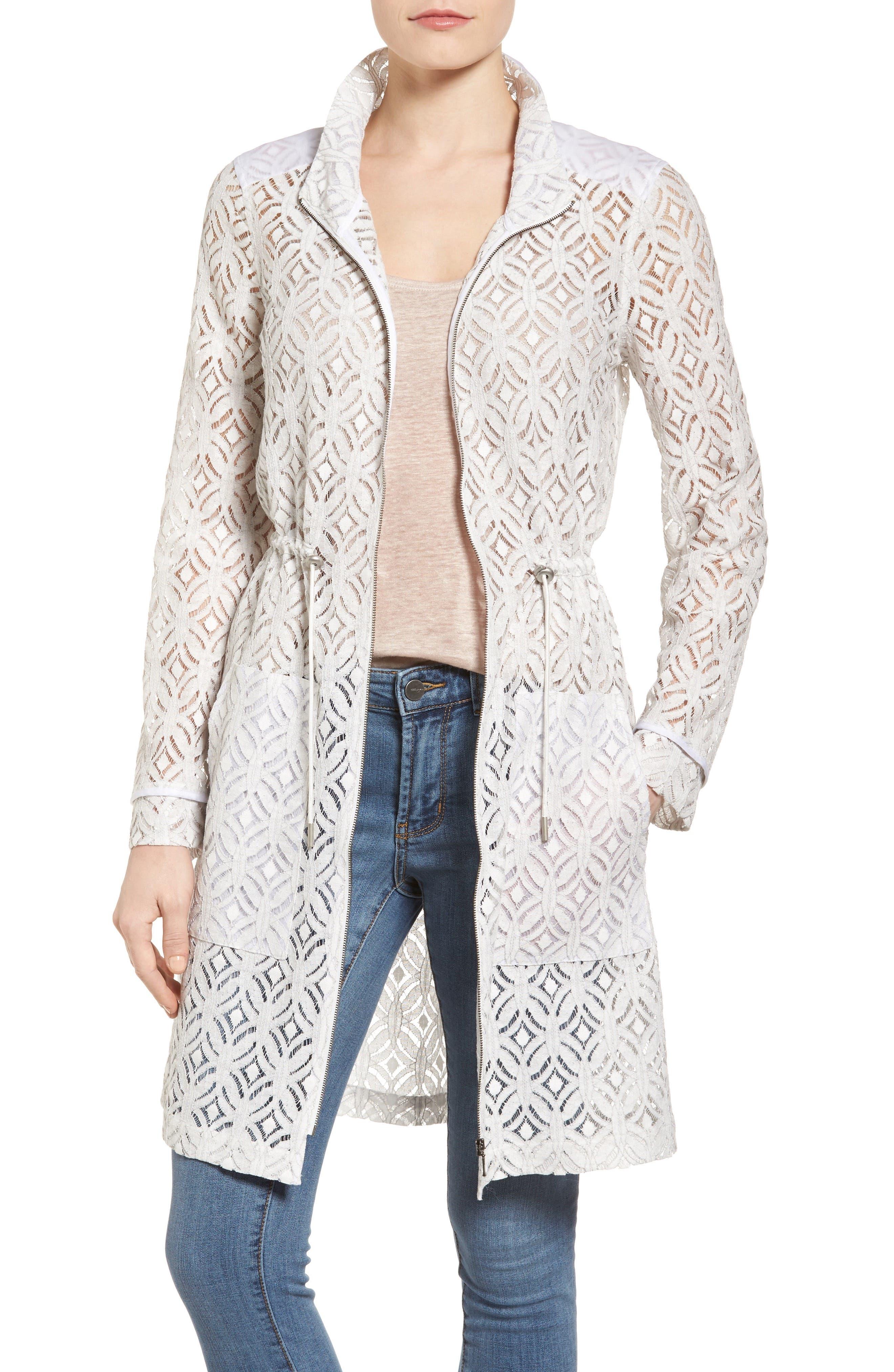 Alternate Image 1 Selected - NIC+ZOE Lush Lace Coat