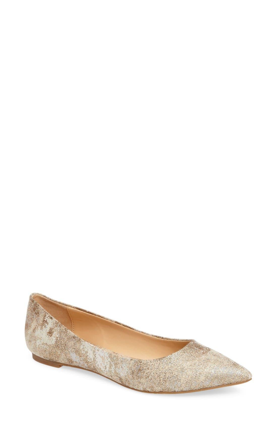 Daya by Zendaya Mystic Pointy Toe Flat (Women)