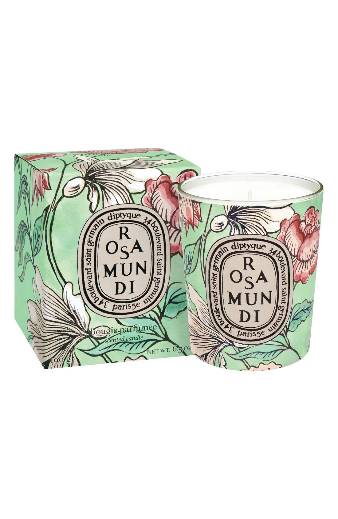 Alternate Image 2  - diptyque Rosa Mundi Candle (Limited Edition)