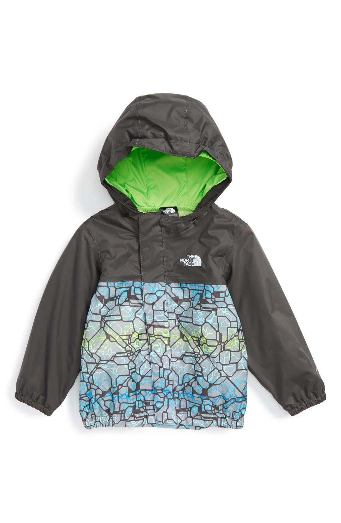 The North Face 'Tailout' Hooded Rain Jacket (Baby Boys)