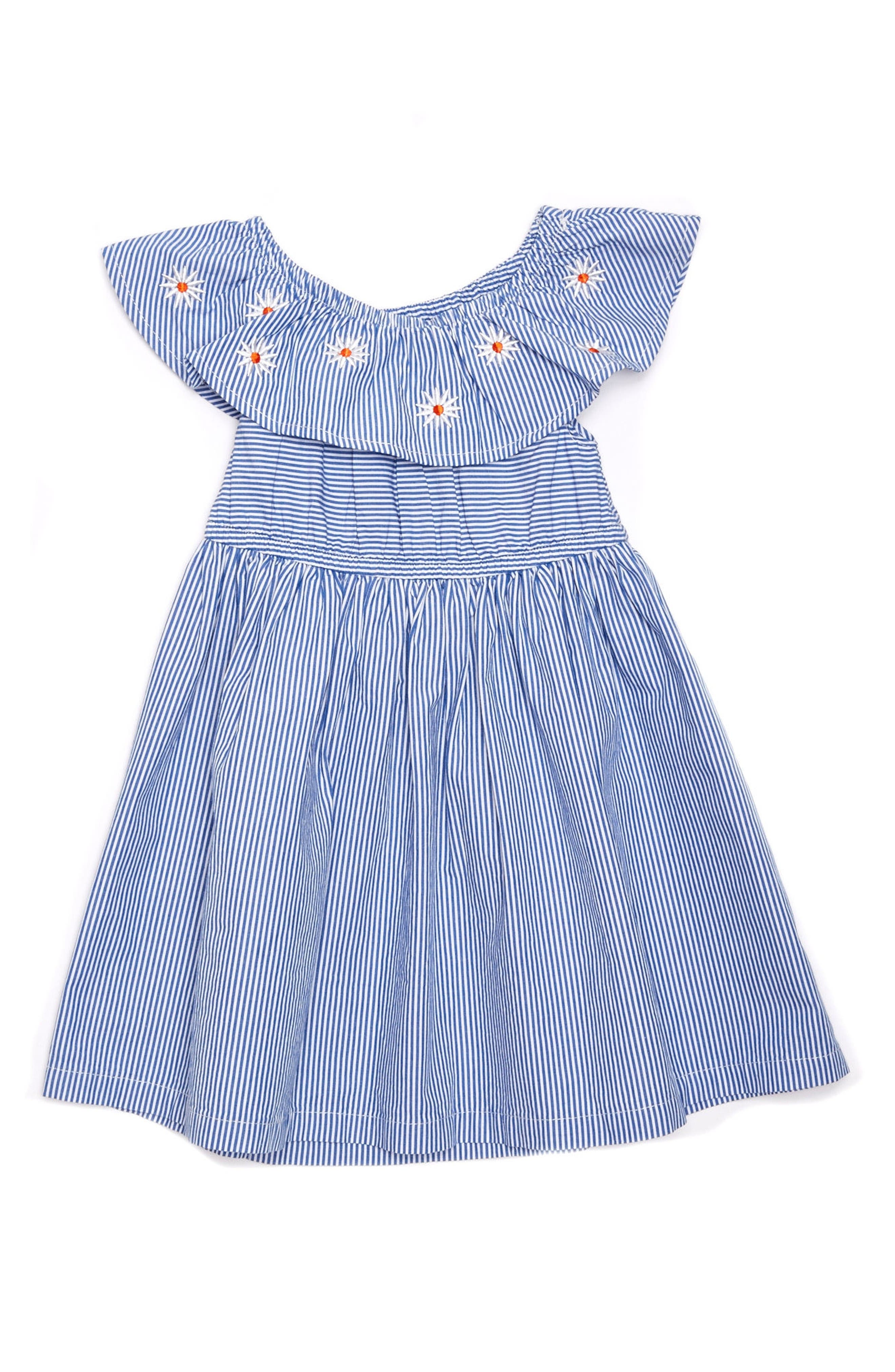 Margherita Daisy Stripe Dress (Baby Girls)